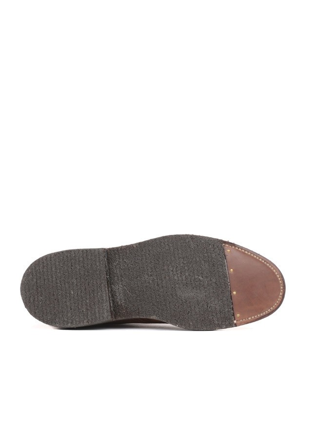 4511H - Plain Toe Boots Snuff Suede