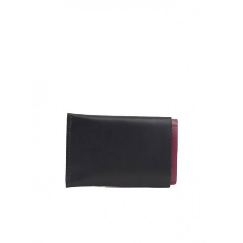 l 39 anguille paris porte passeport cuir noir shop royalcheese shoes. Black Bedroom Furniture Sets. Home Design Ideas