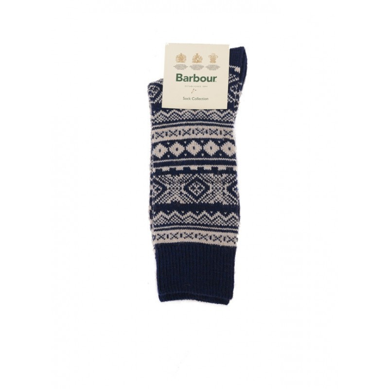 Chausettes Onso Fairisle Navy