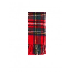 New Check Scarf Royal