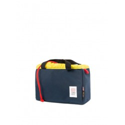 Camera Cube Navy Yellow
