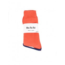 Chaussettes Waffle Red