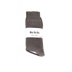 Chaussettes Waffle Charcoal