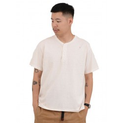 S/s Henley Tee Natural