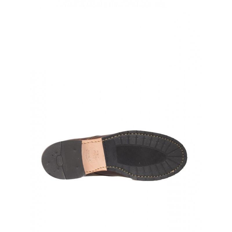 Cap Toe Brown Shoes
