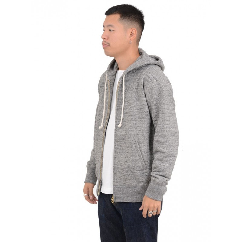 Gg Sweat Parka Charcoal