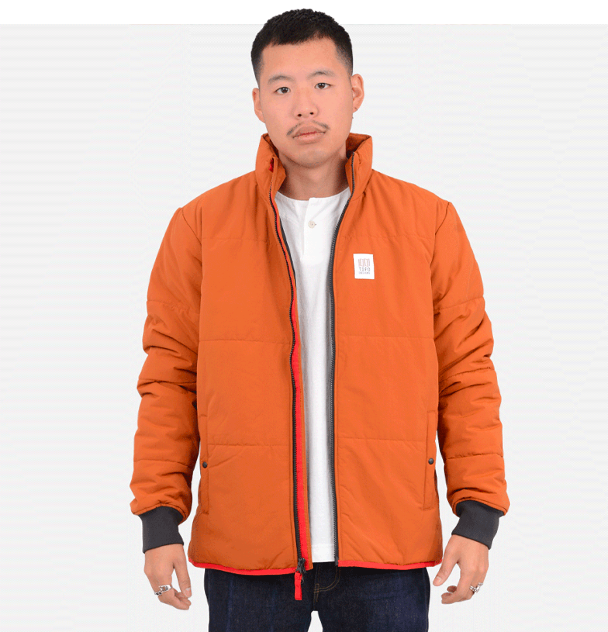 Mid Puffer Jacket Clay