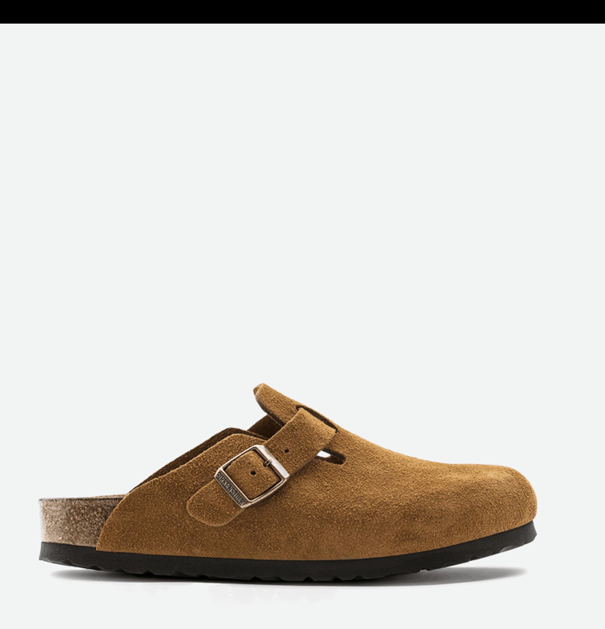 Chaussures Boston Mink Suede