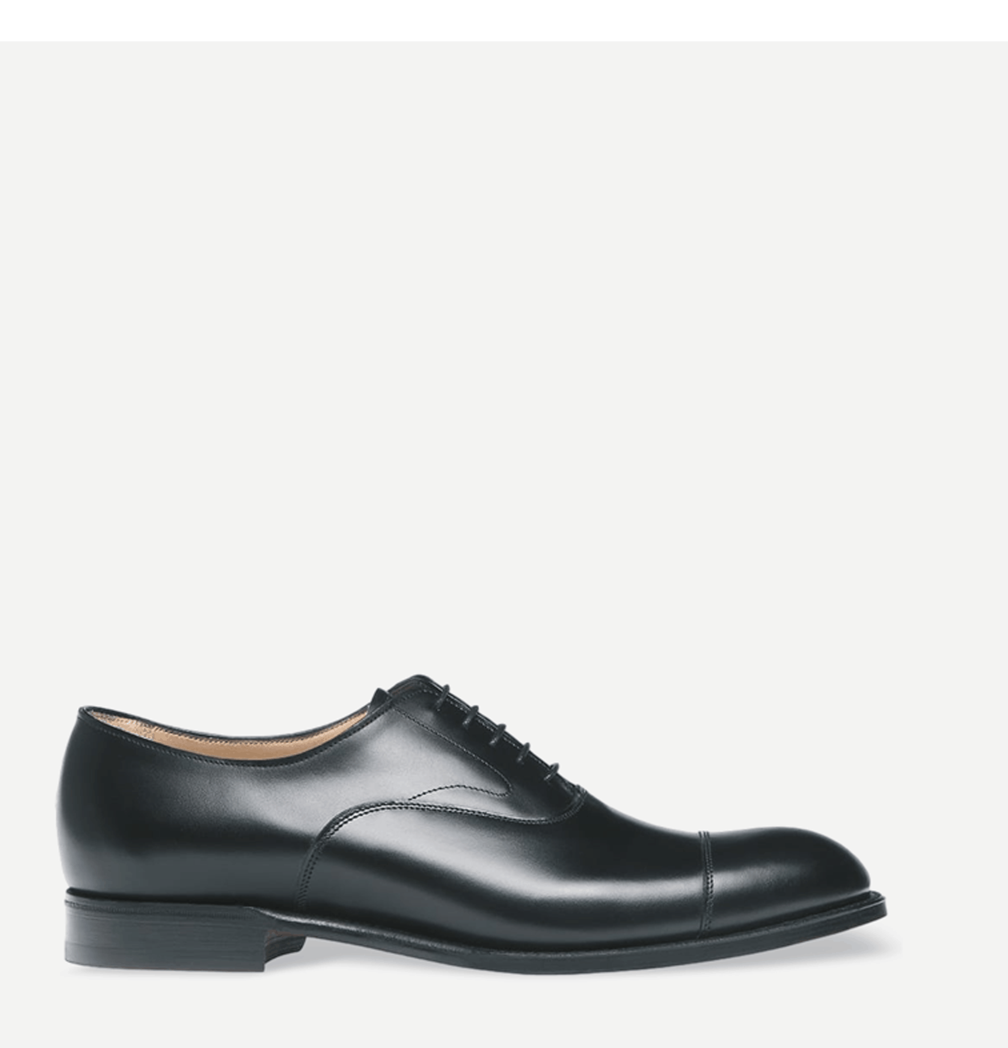 Alfred Capped Oxford Black