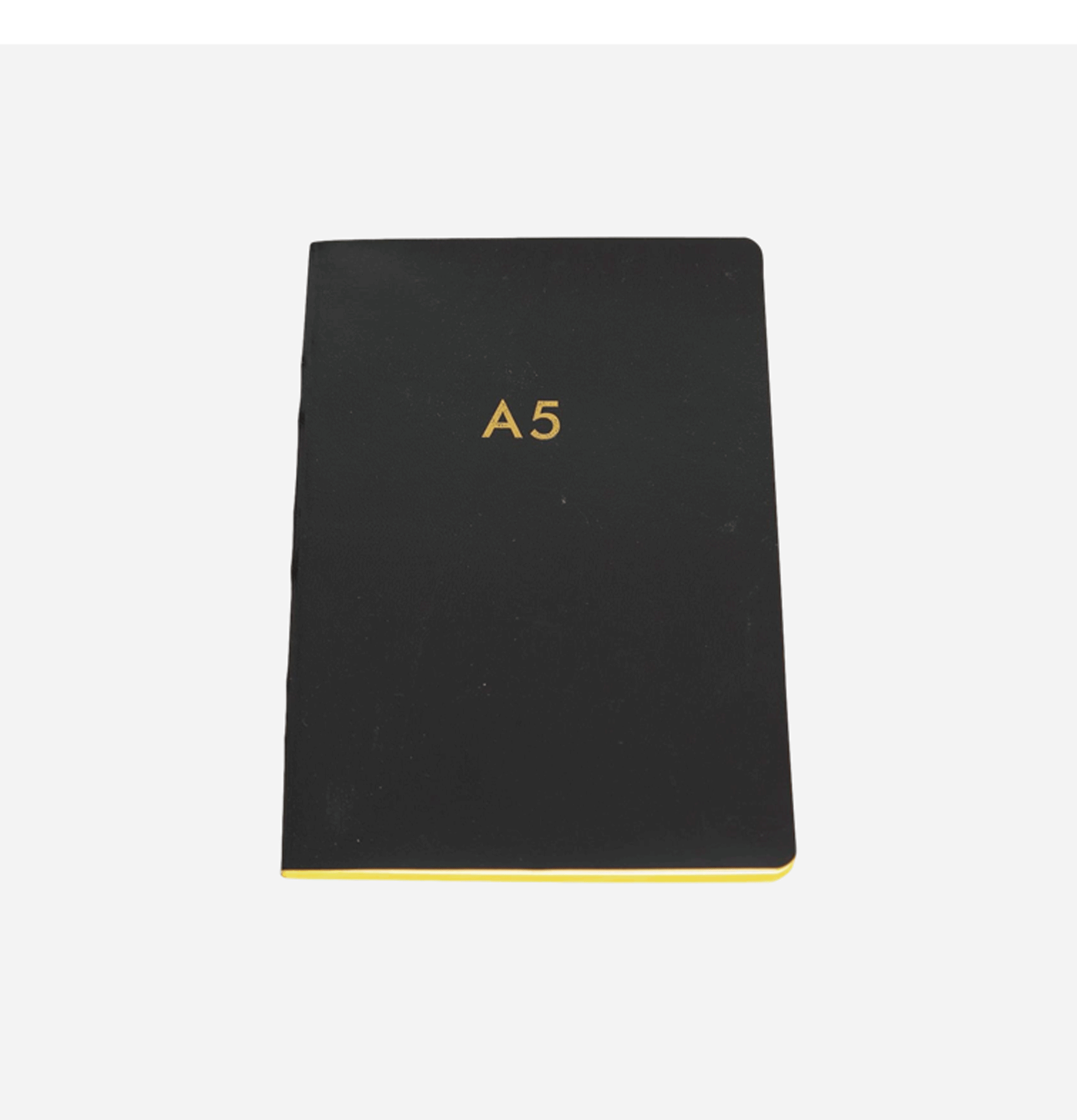 A5 Notebook Yellow