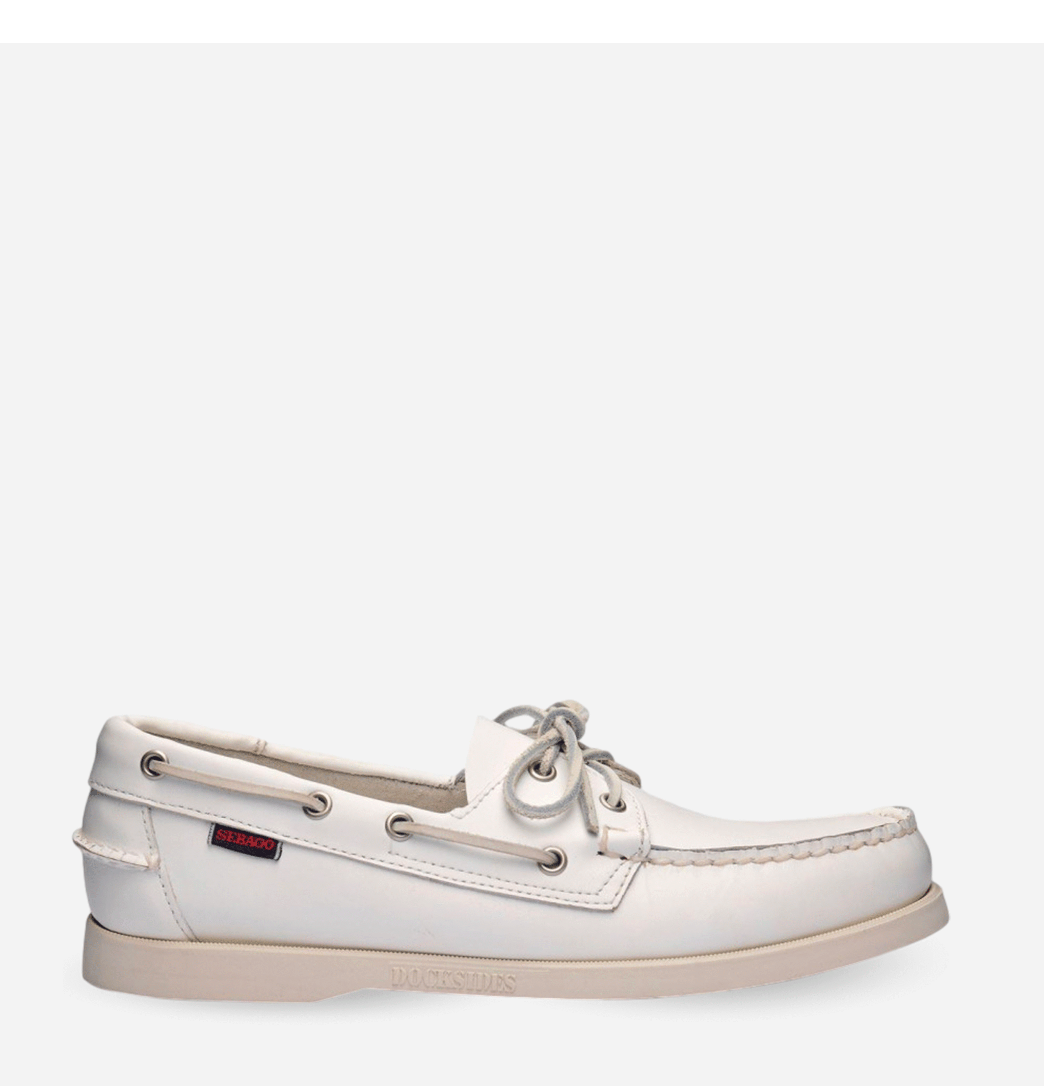 Docksides Shoes White