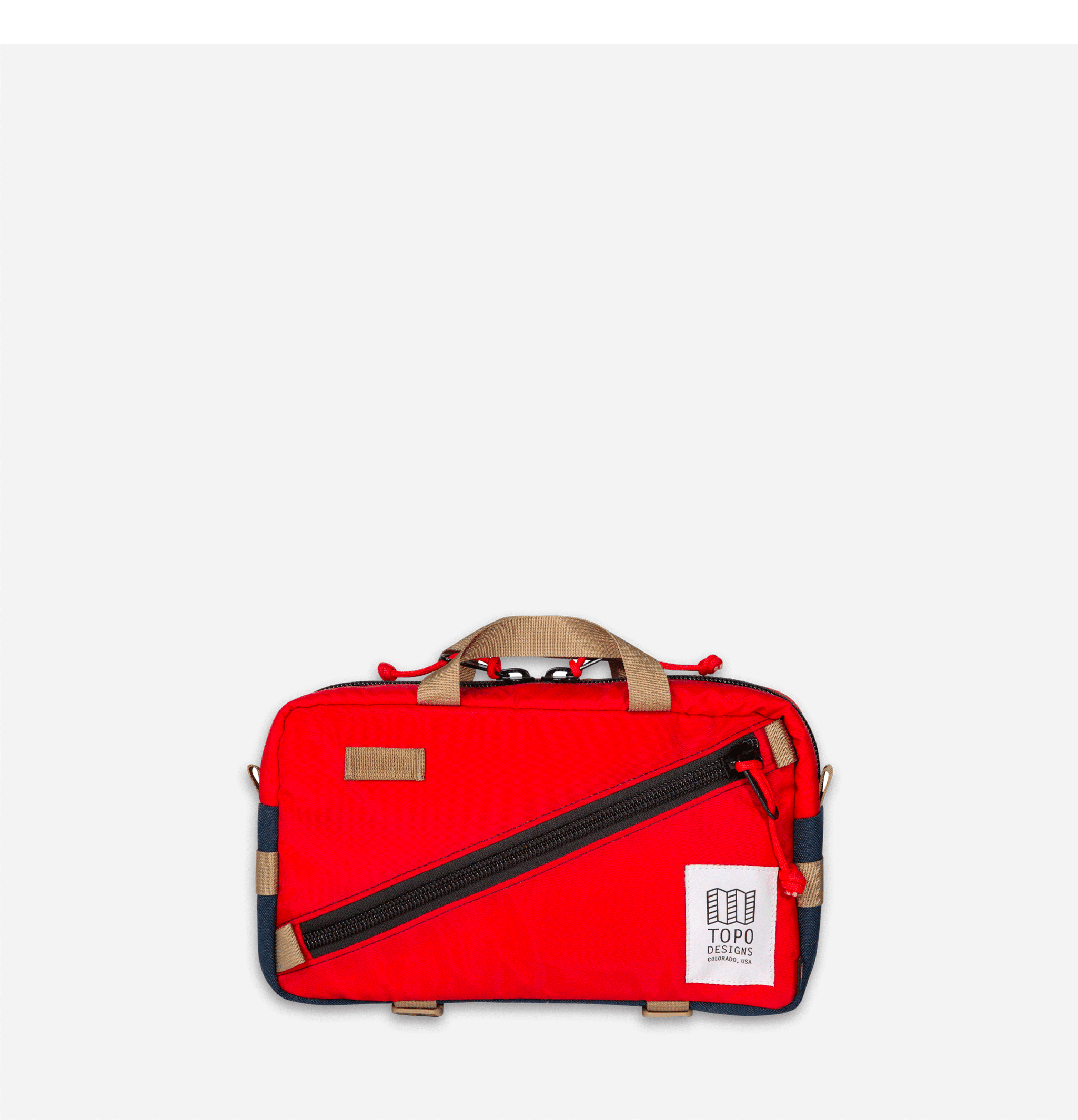 Quick Pack Red Navy