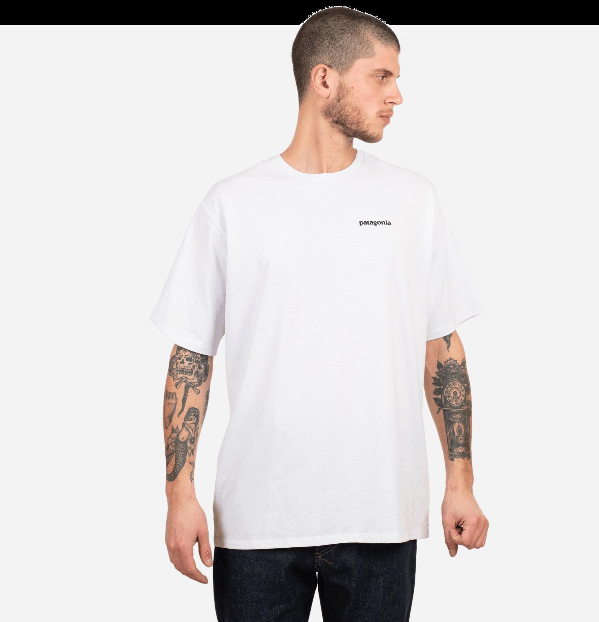 P6 Logo T-shirt White
