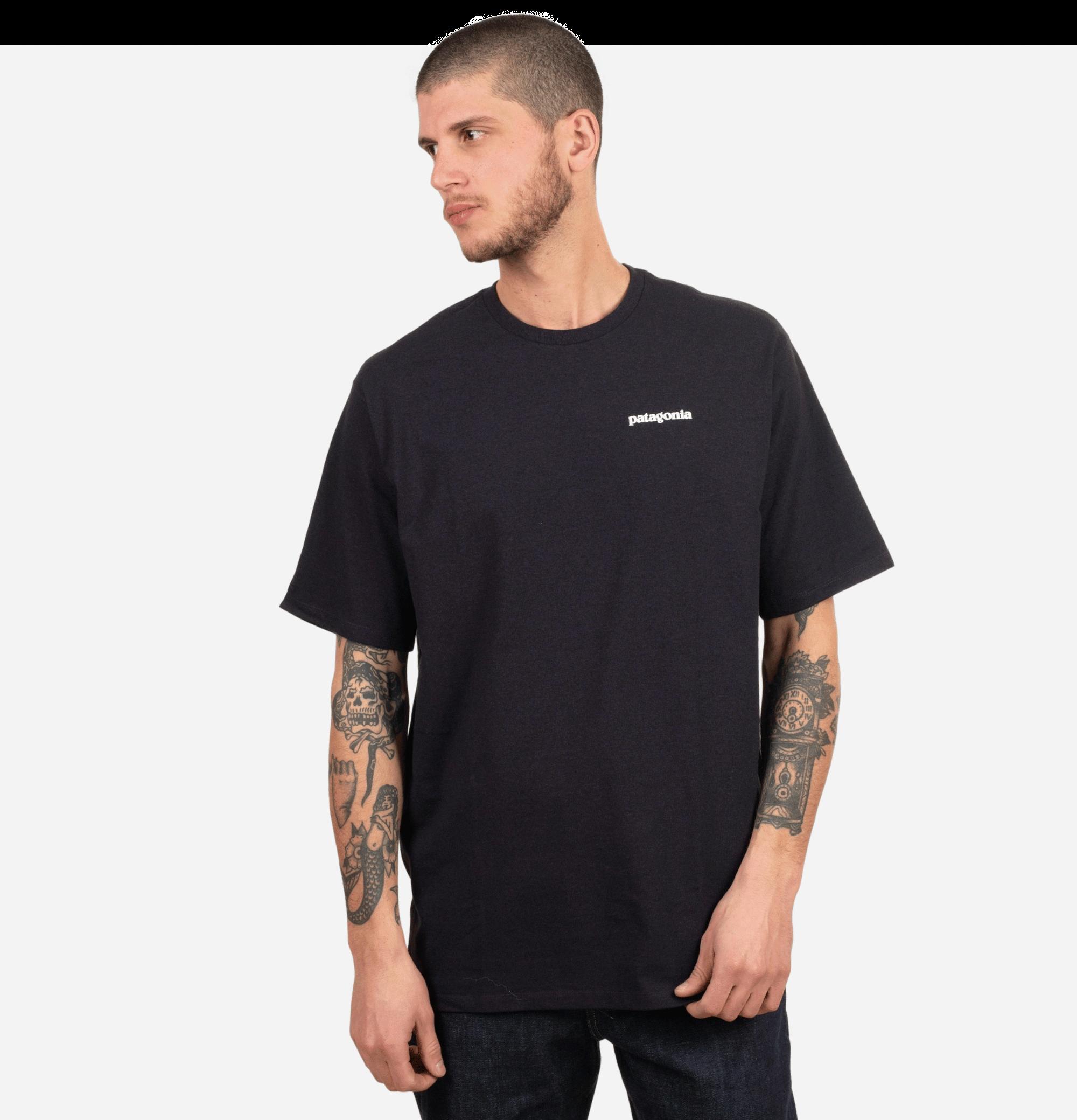 P6 Logo T-shirt Black