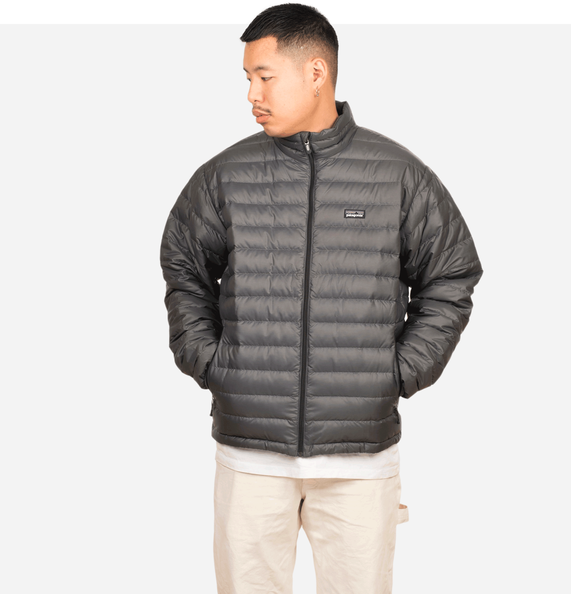 Blouson Down Sweater Forge...