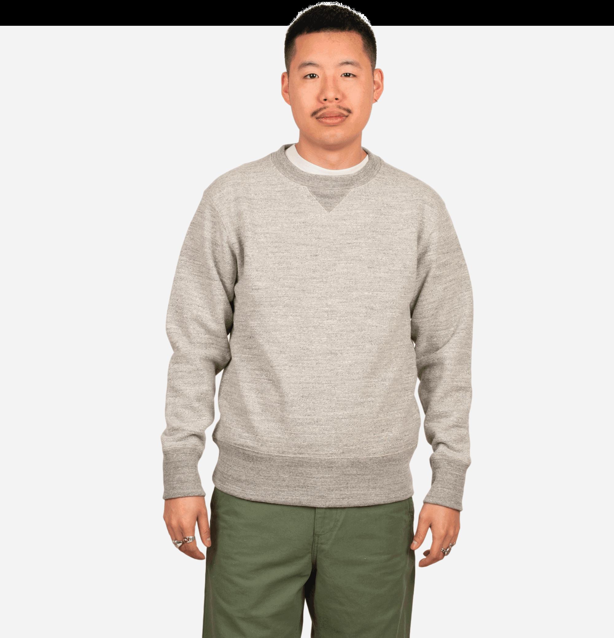 Crewneck Sweater Heather Grey