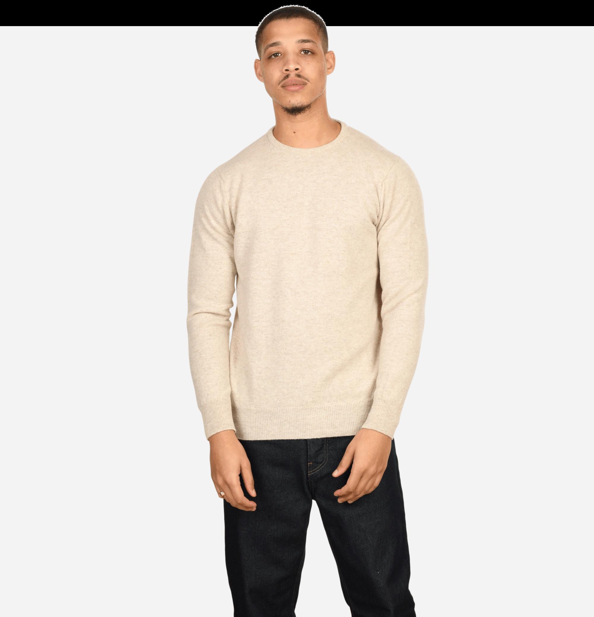Round Neck Pullover Linen