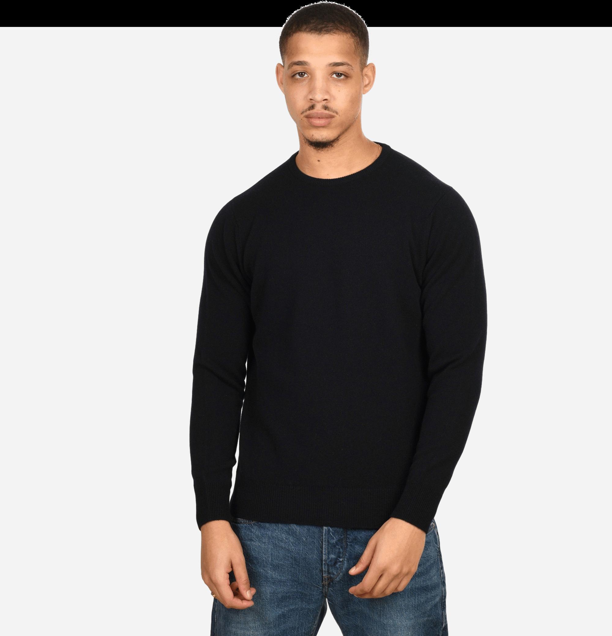 Round Neck Pullover Navy