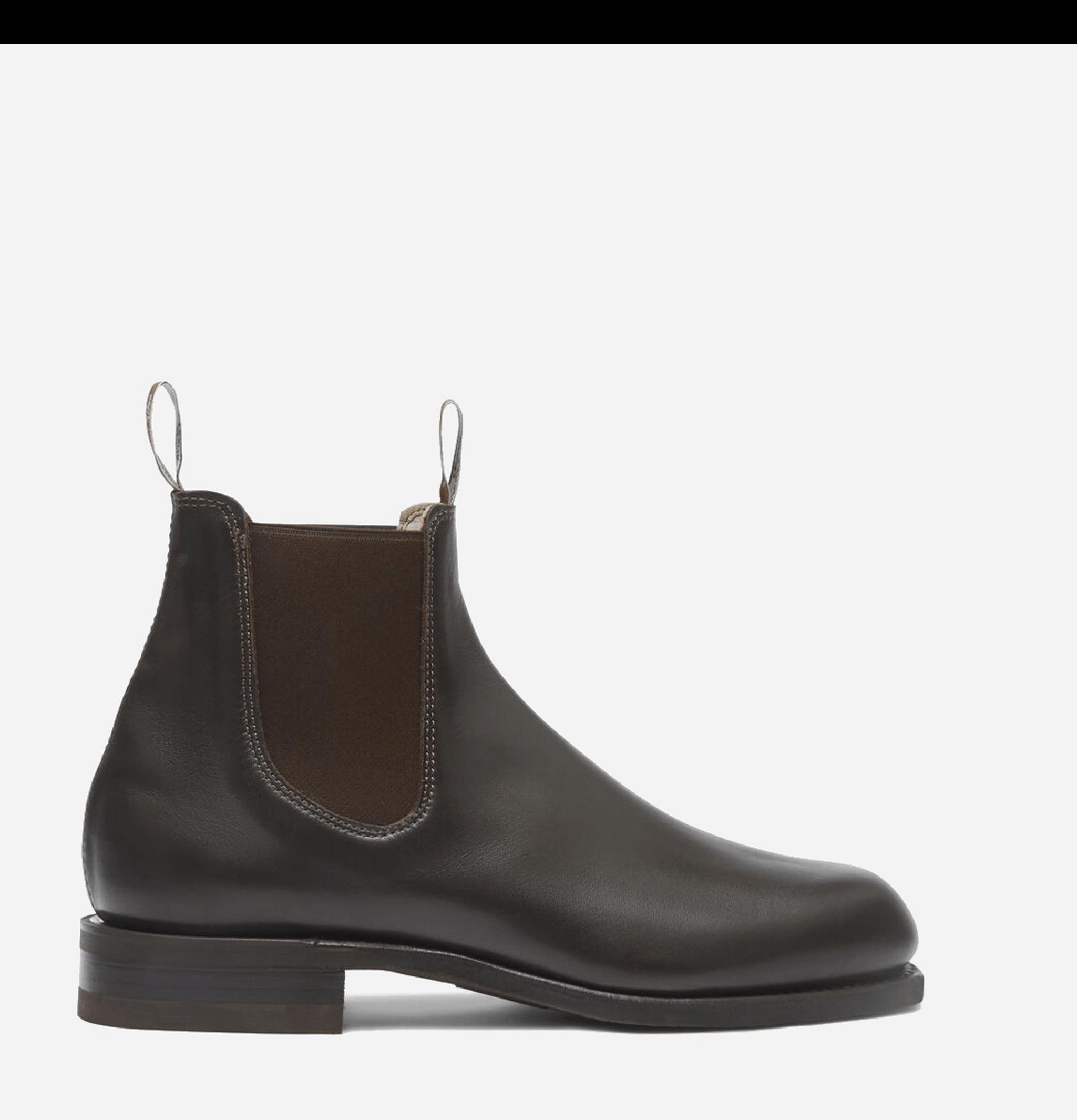 Comfort Turnout Boots Chestnut