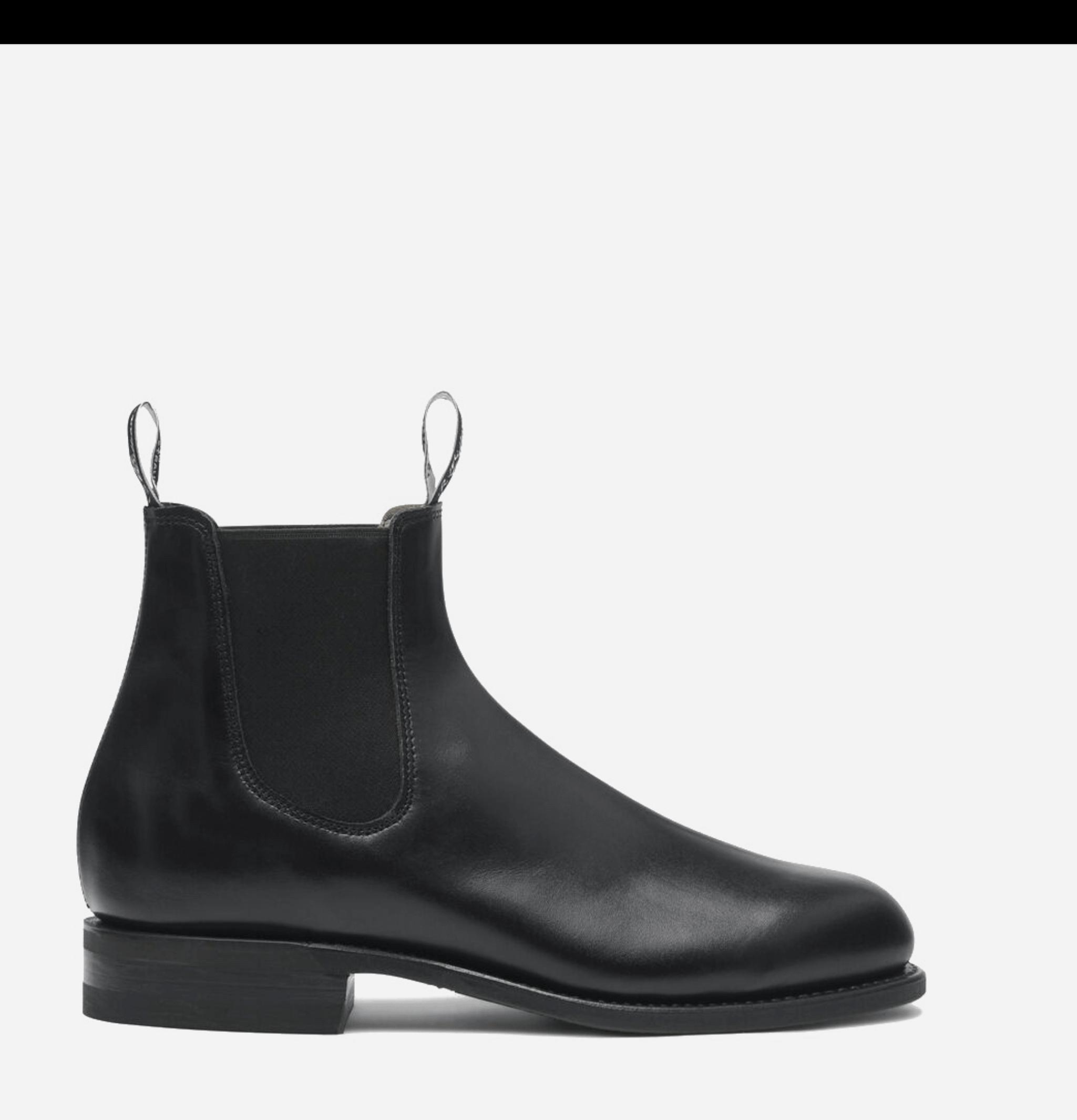 Comfort Turnout Boots Black