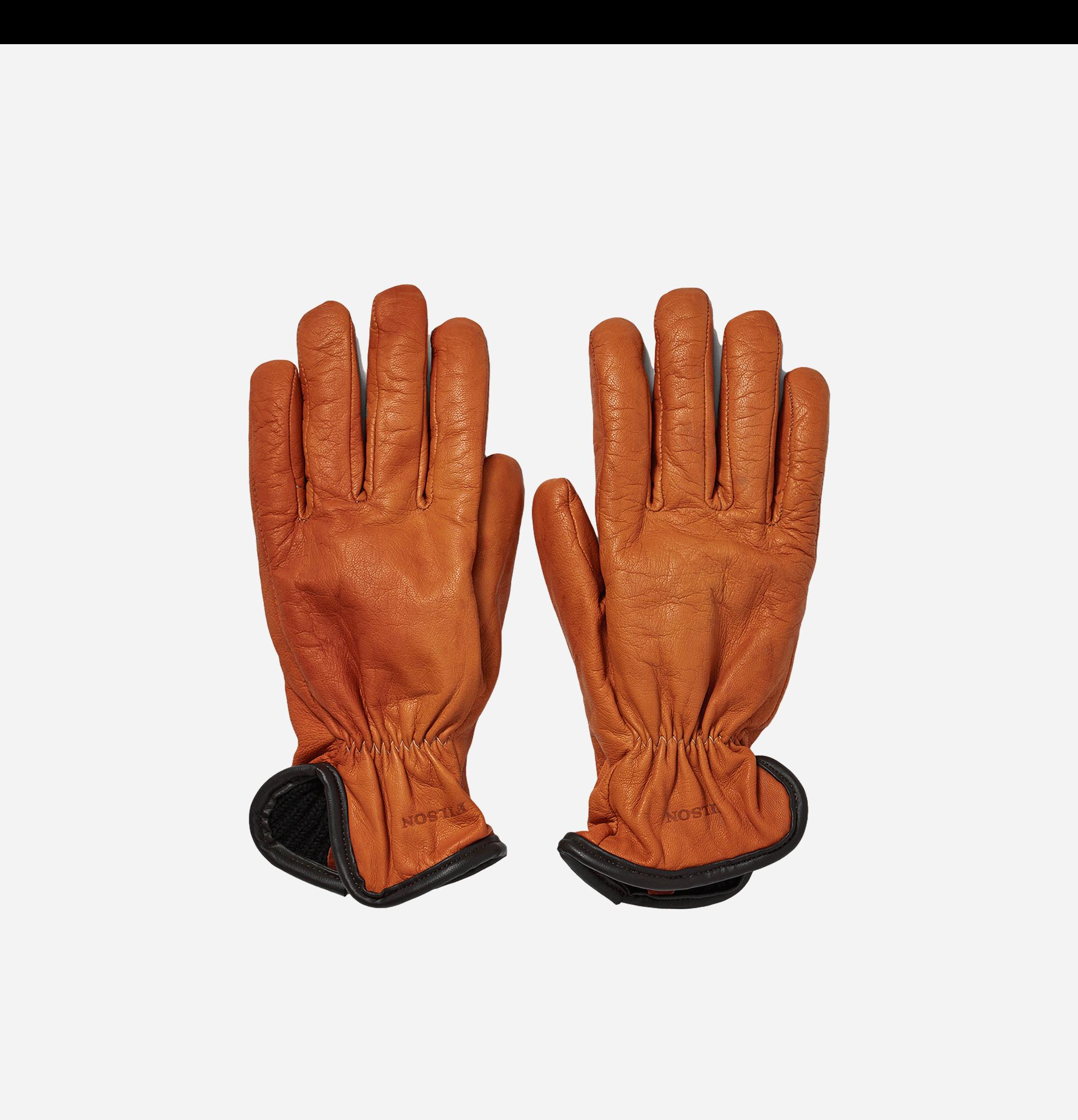 Deerskin Lined Gloves Saddle