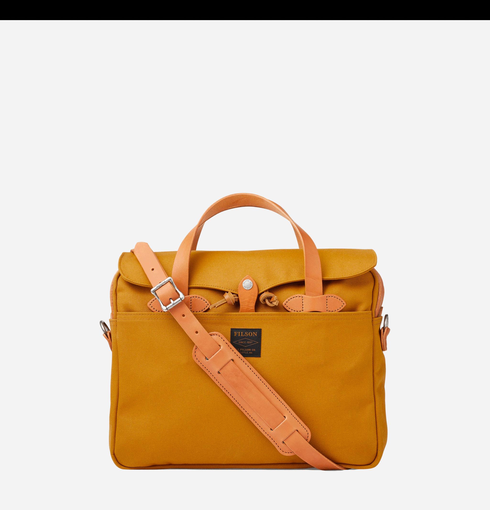 Original Briefcase Chessie Tan