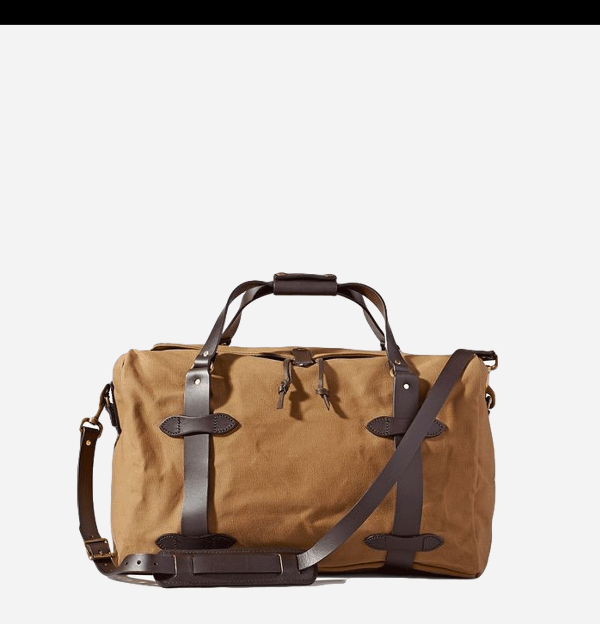 70325 - Medium Duffle Bag Tan