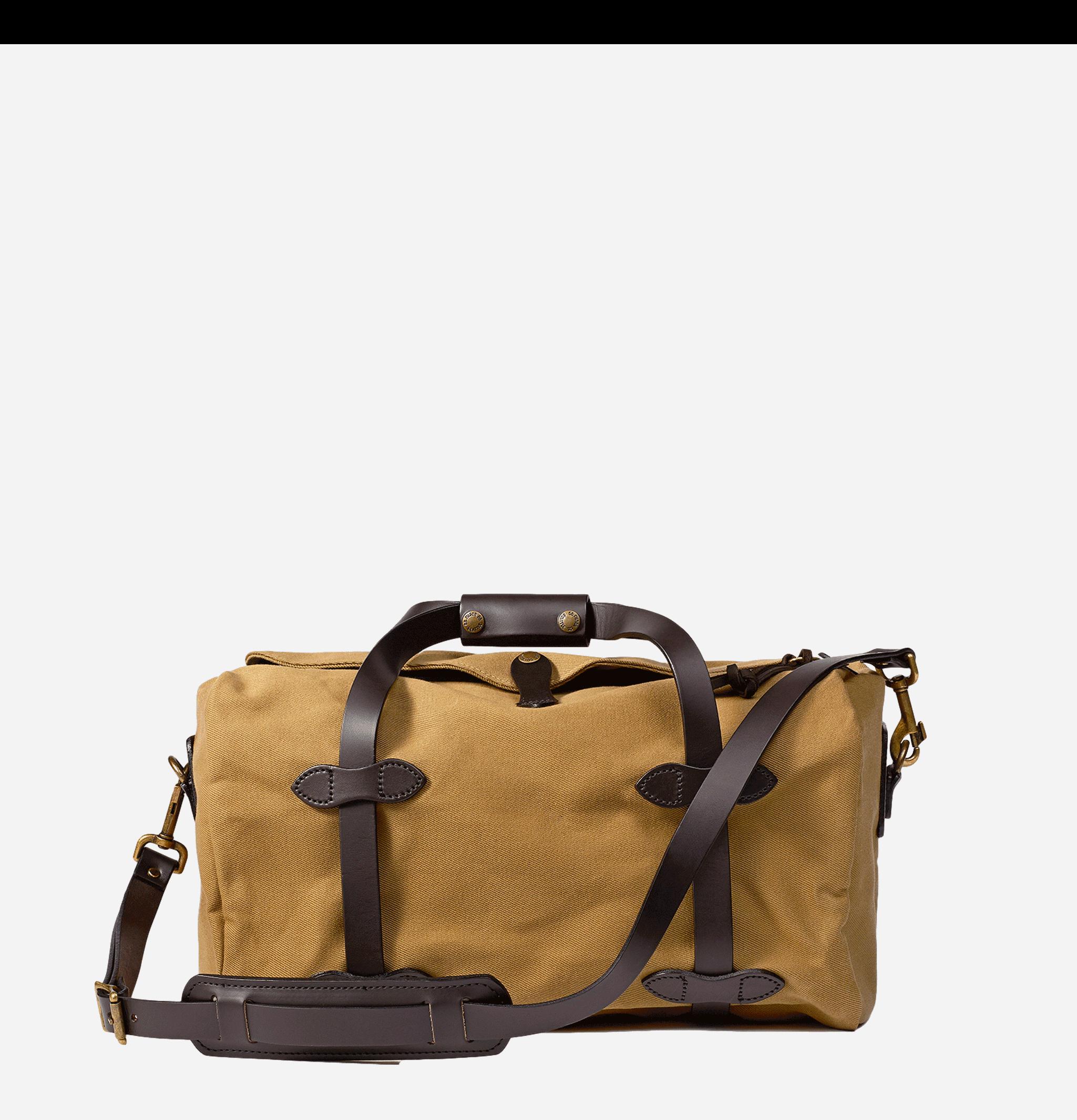 70220 - Small Duffle Bag Tan