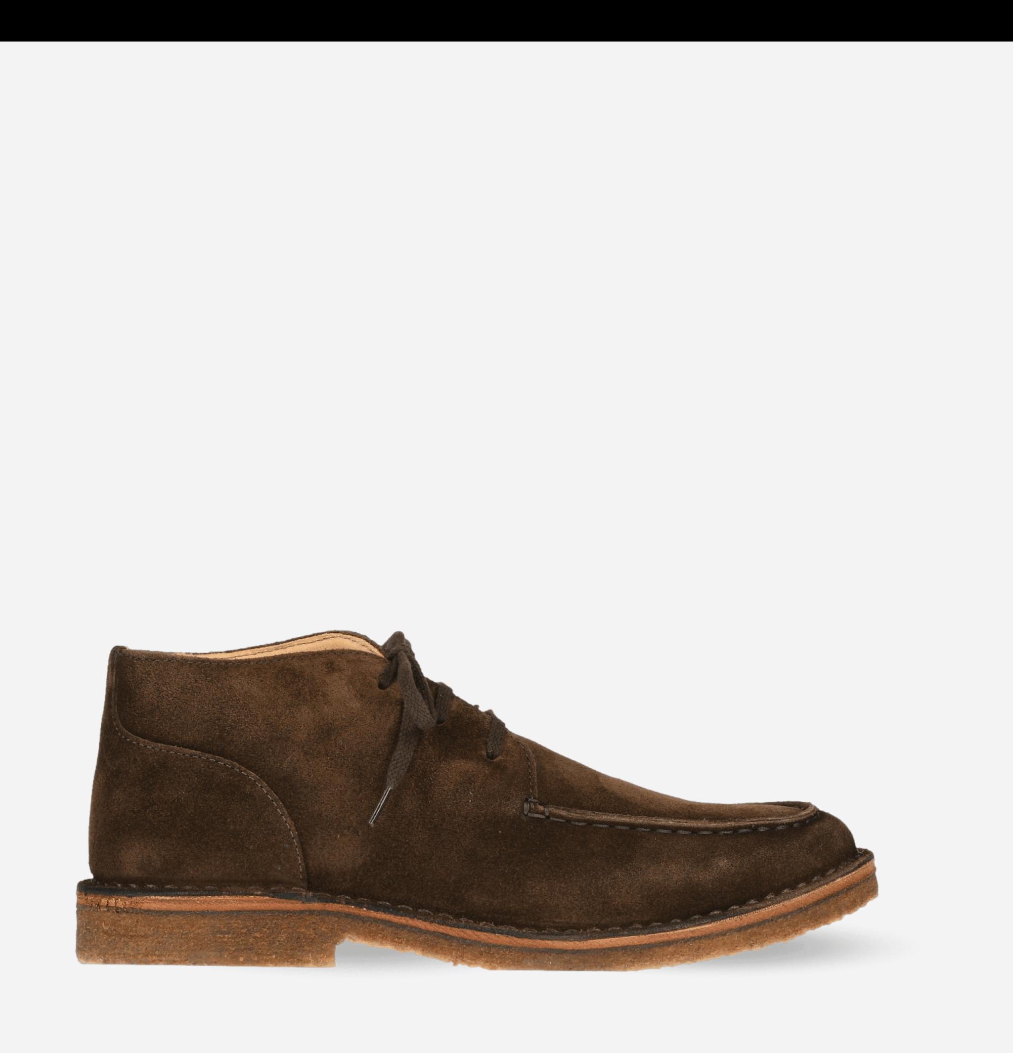 Deuxflex Boots Dark Chestnut