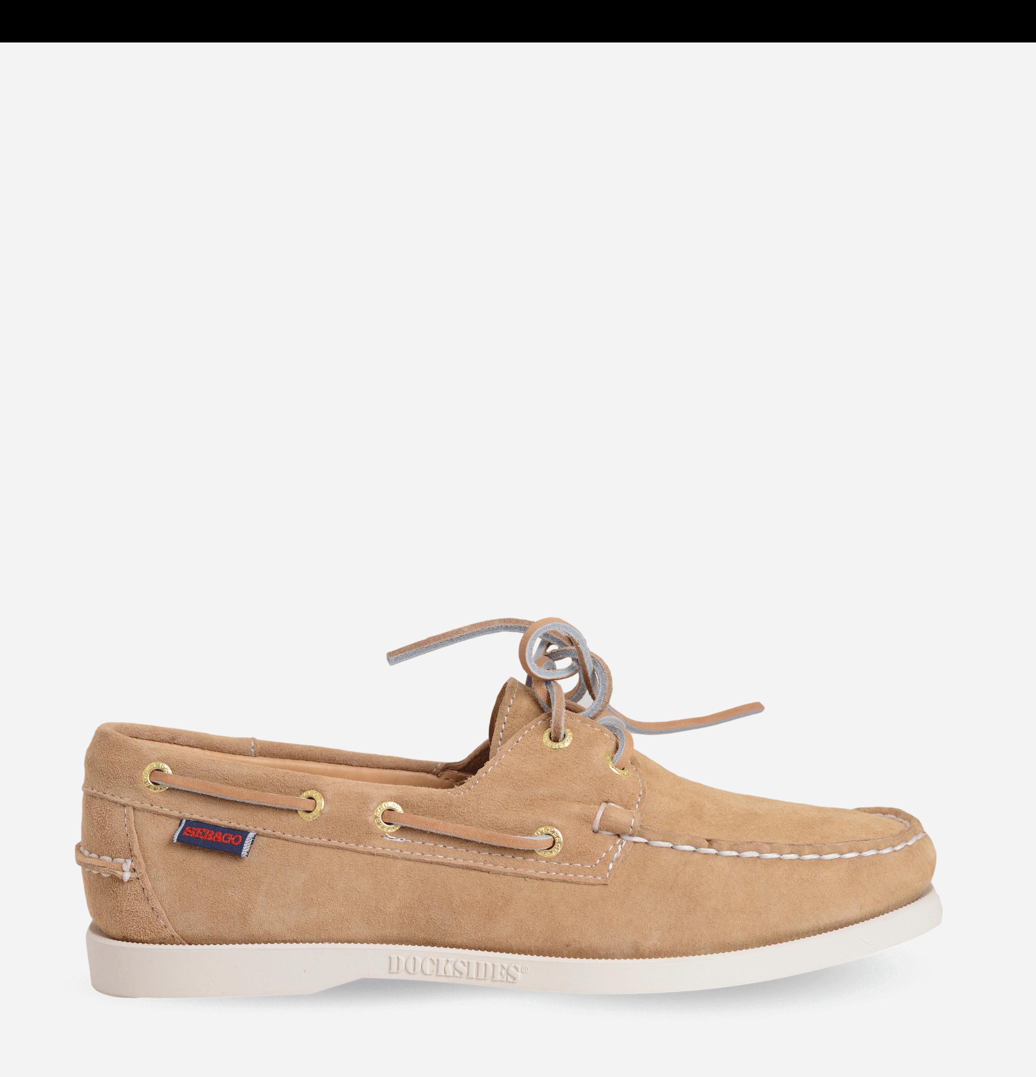 Docksides Shoes Sand Suede