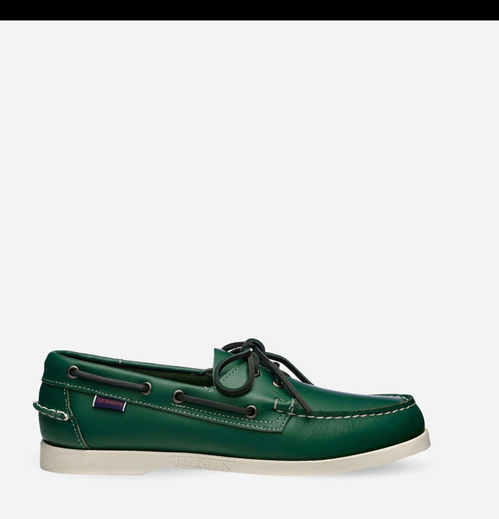 Sebago Shoes Docksides Green