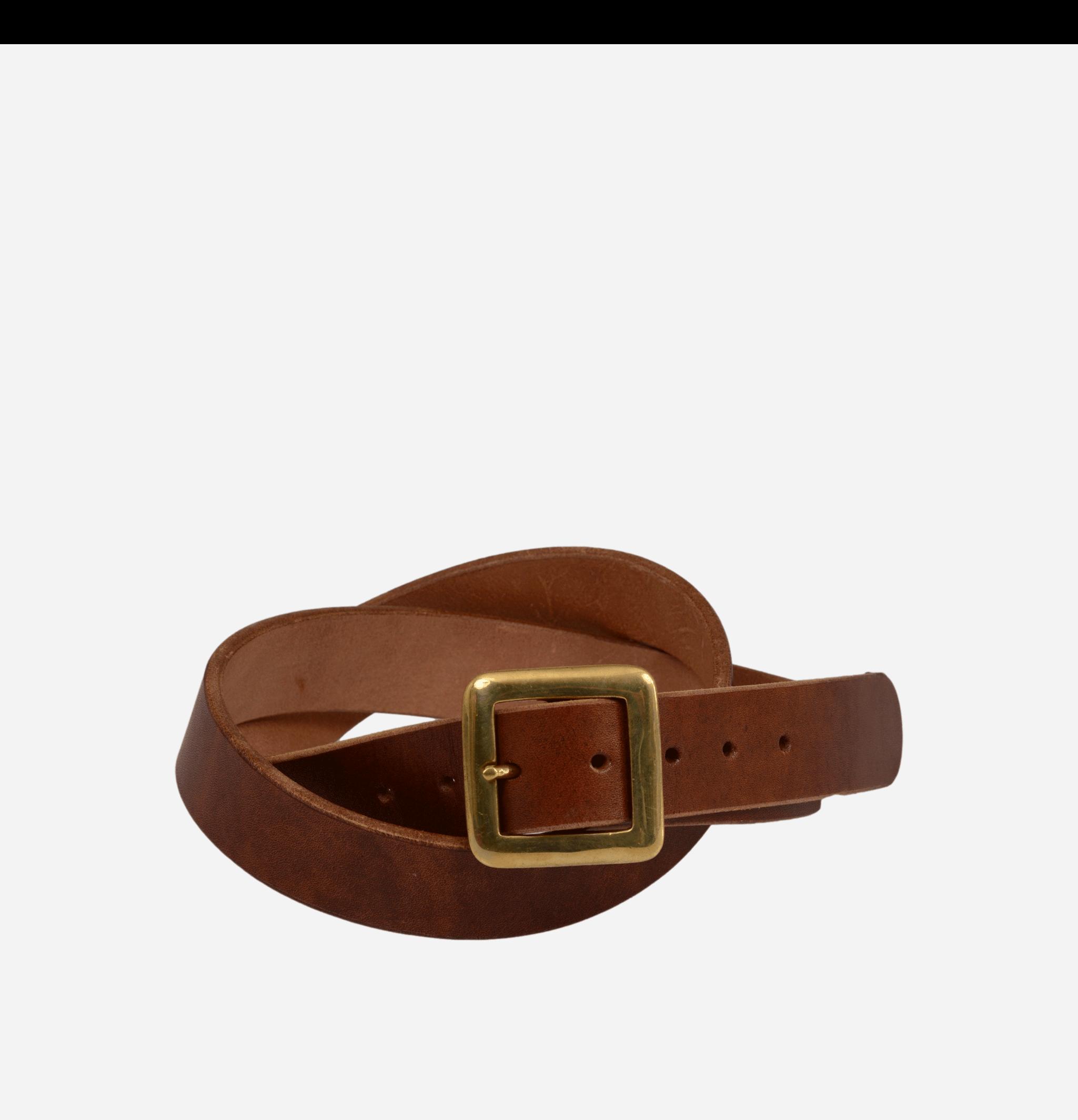 Square Belt Brown