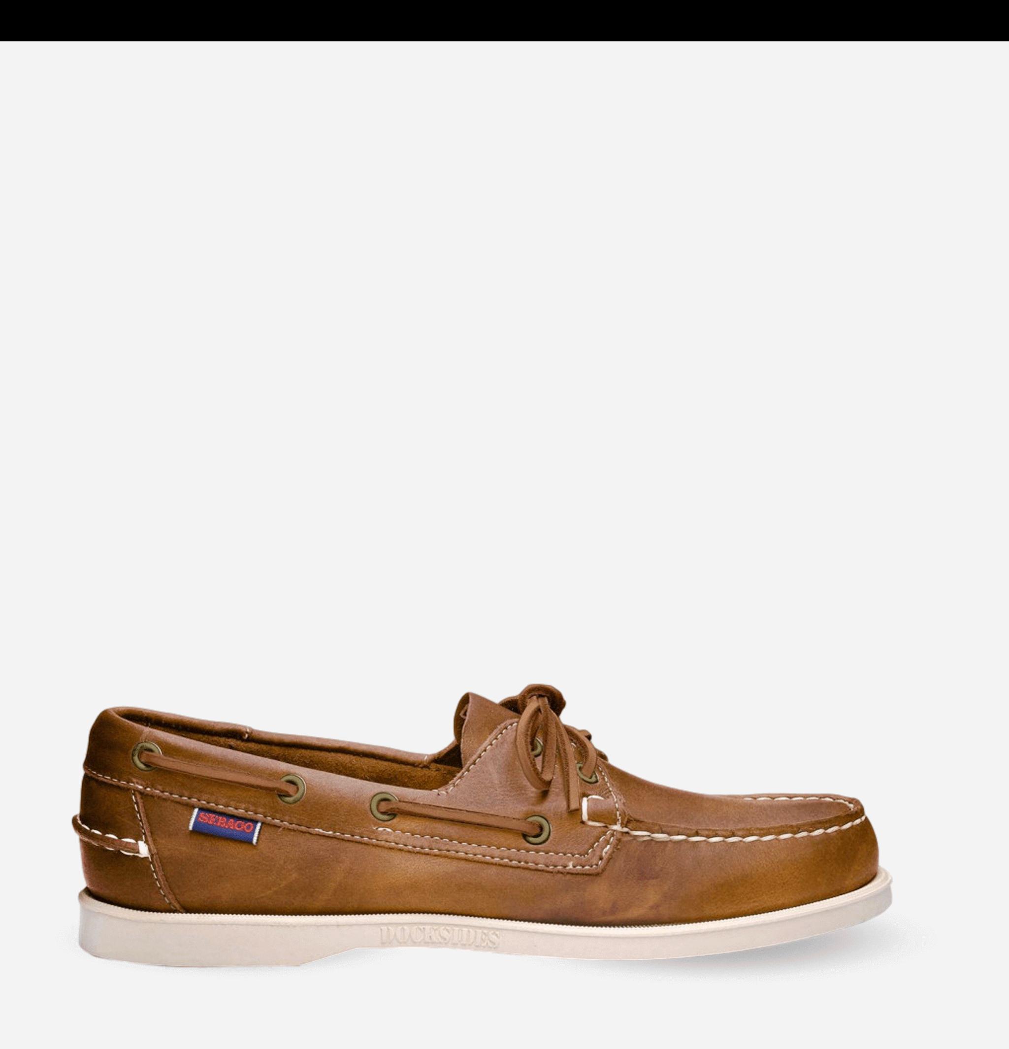 Docksides Shoes Brownwhite