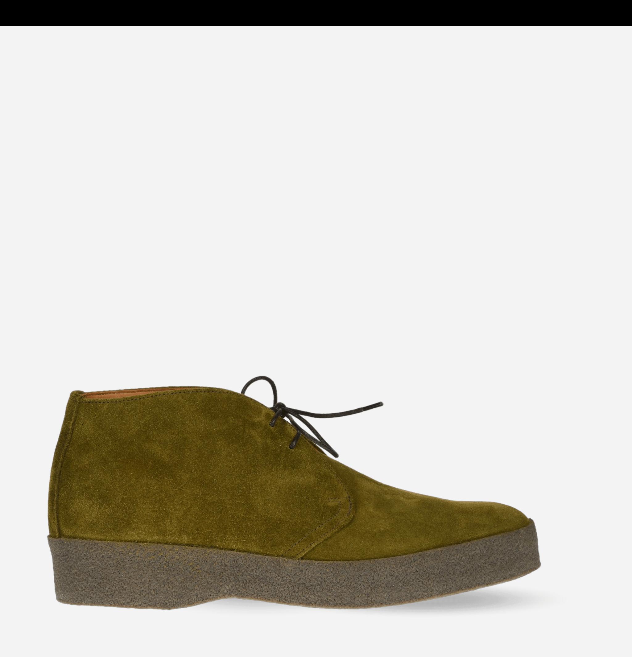 Chaussures Sanders Hi-top Vert