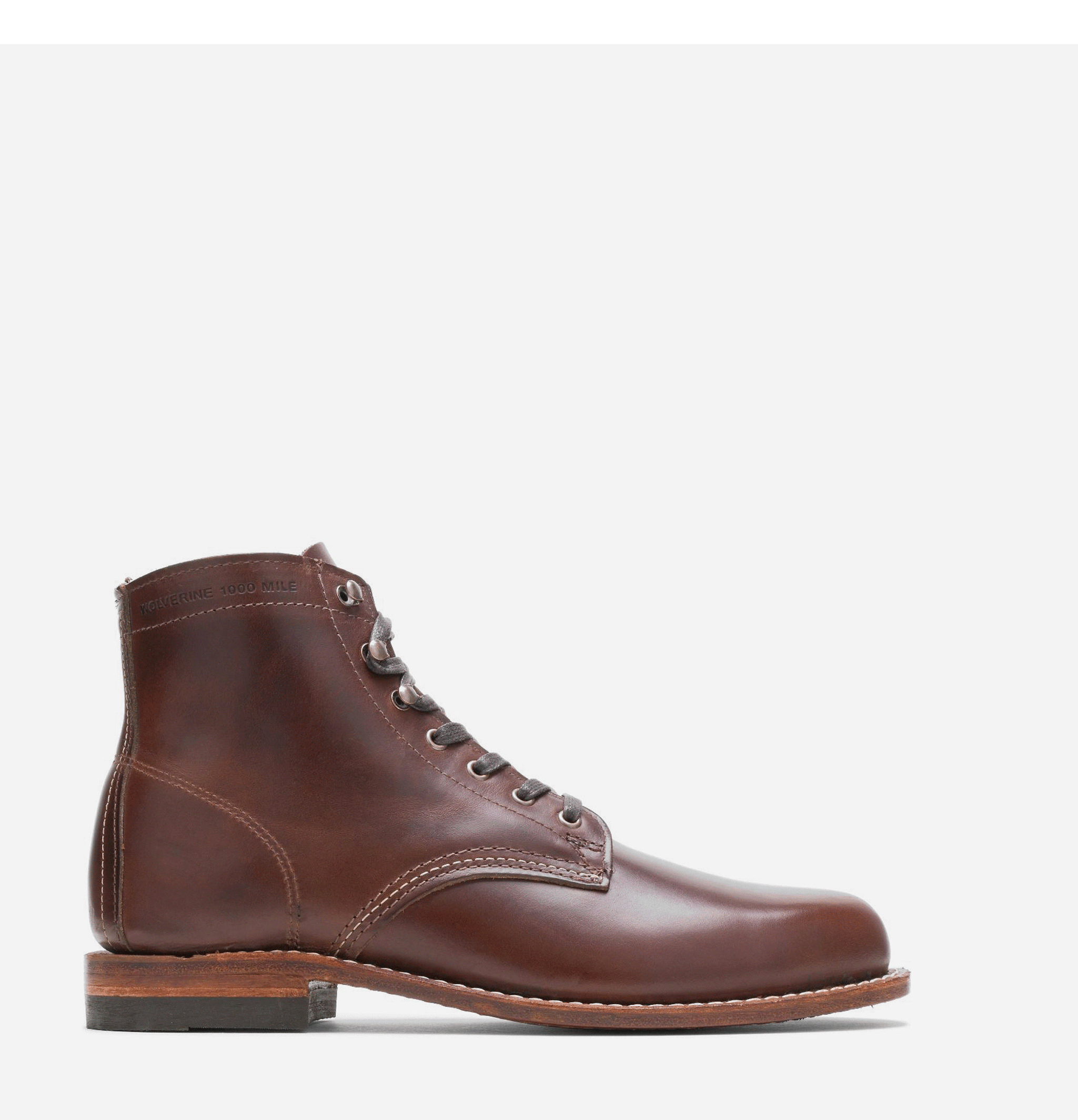 1000 Mile Boots Brown