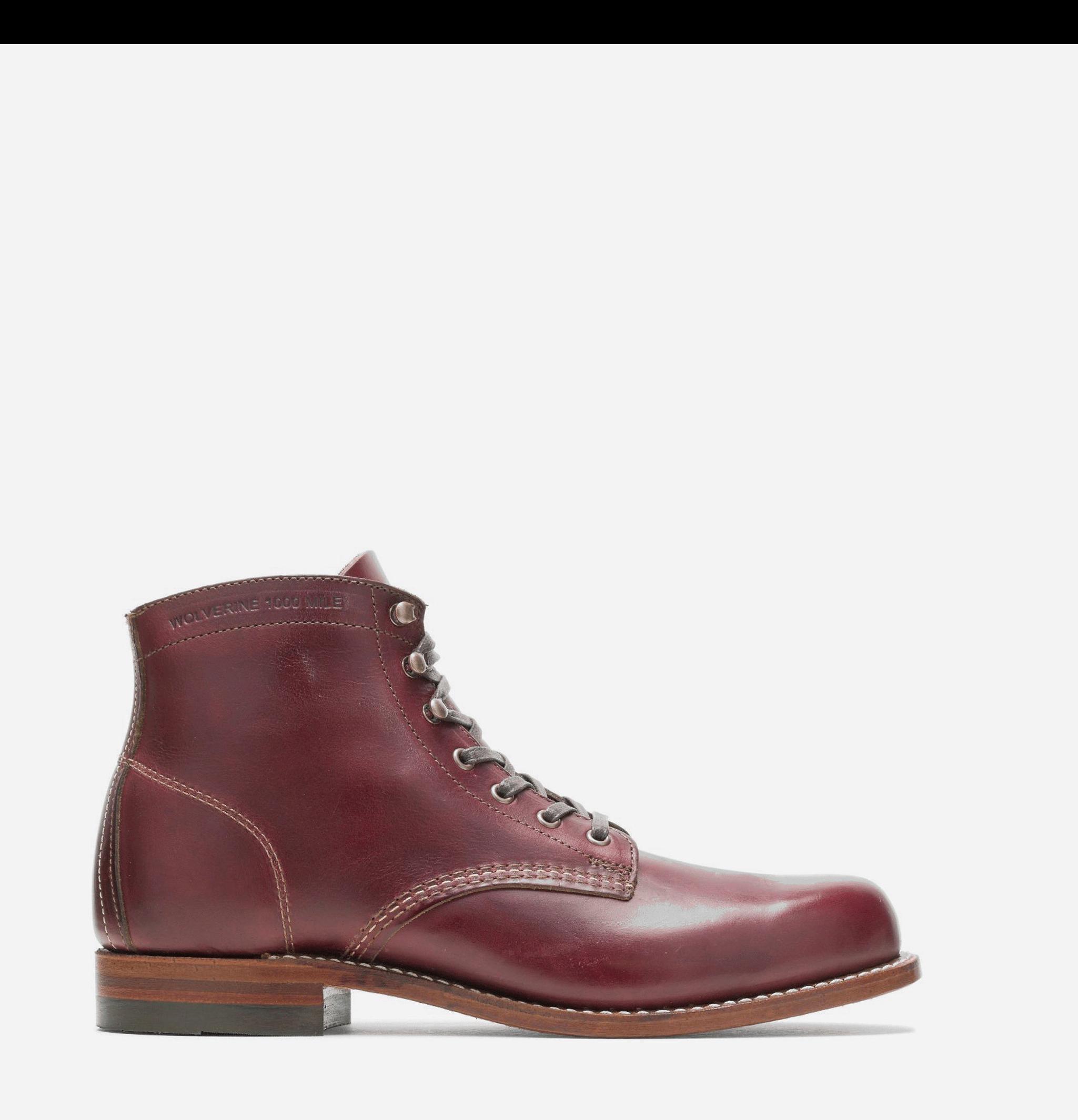1000 Mile Boots Cordovan N°8