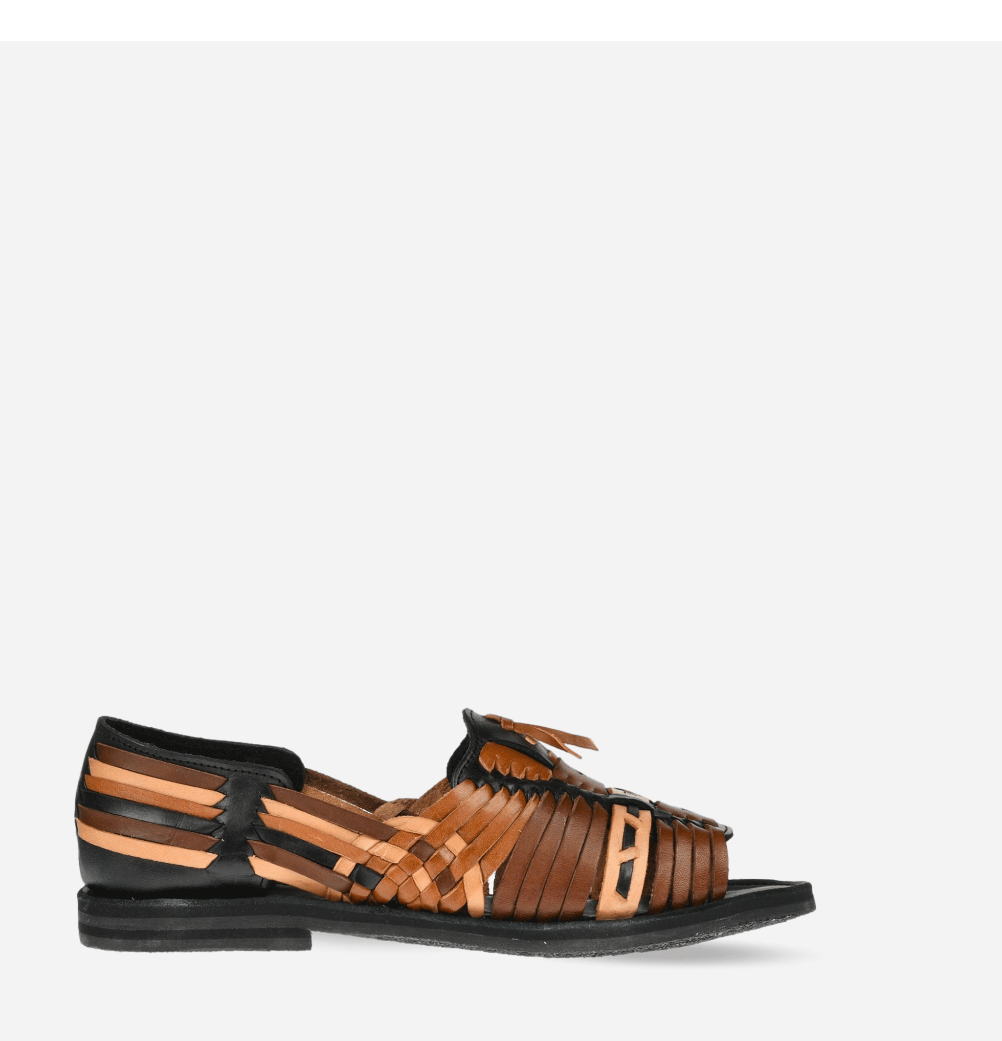 Uxmal Sandals Multi Black