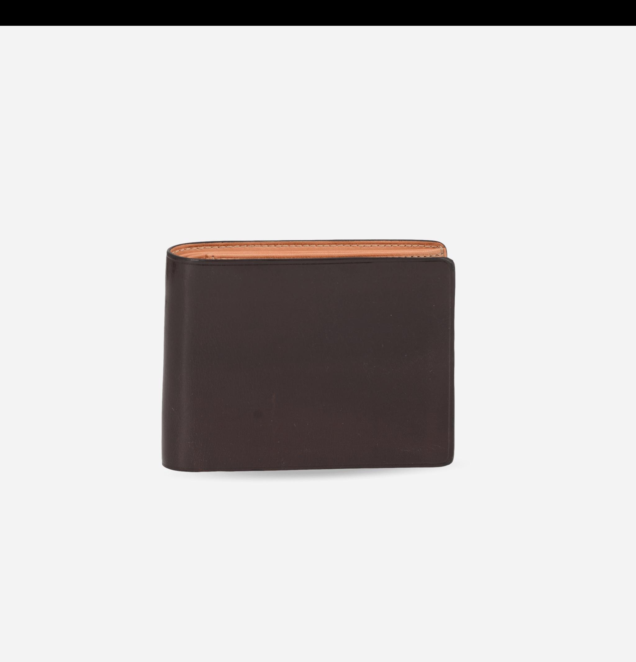 Bi-Fold Wallet Dark Brown