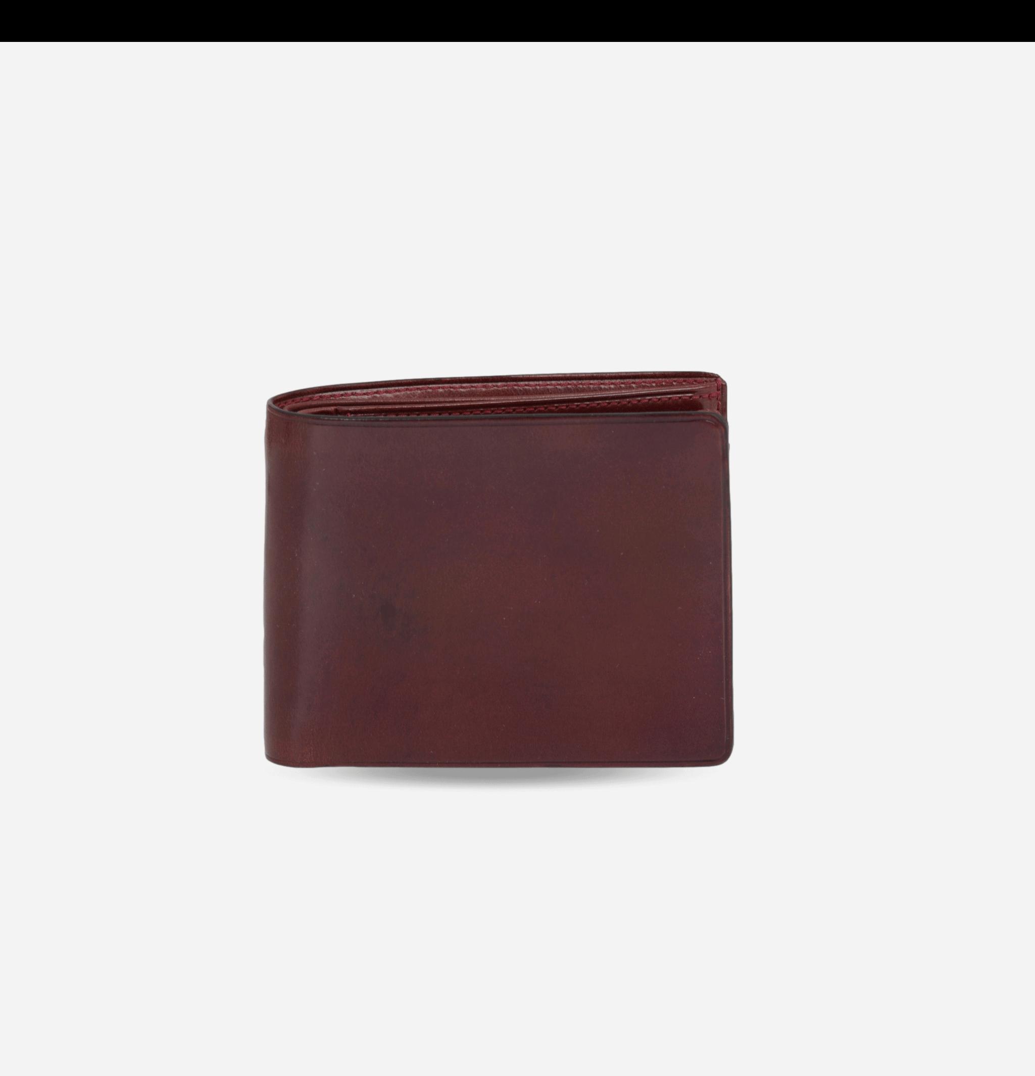 Bi-fold Wallet Coin Bordo