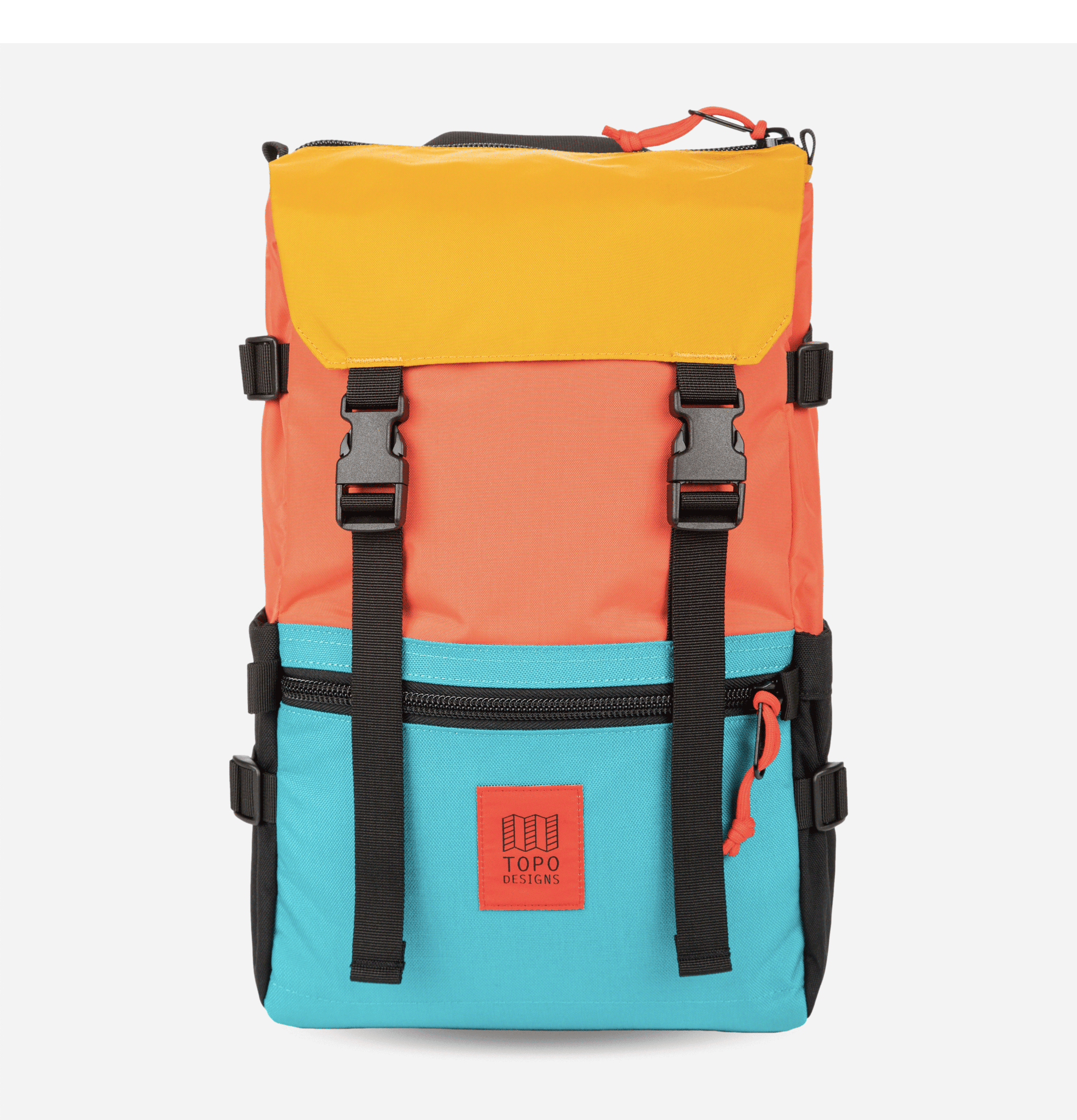 Rover Backpack Coral Turquoise