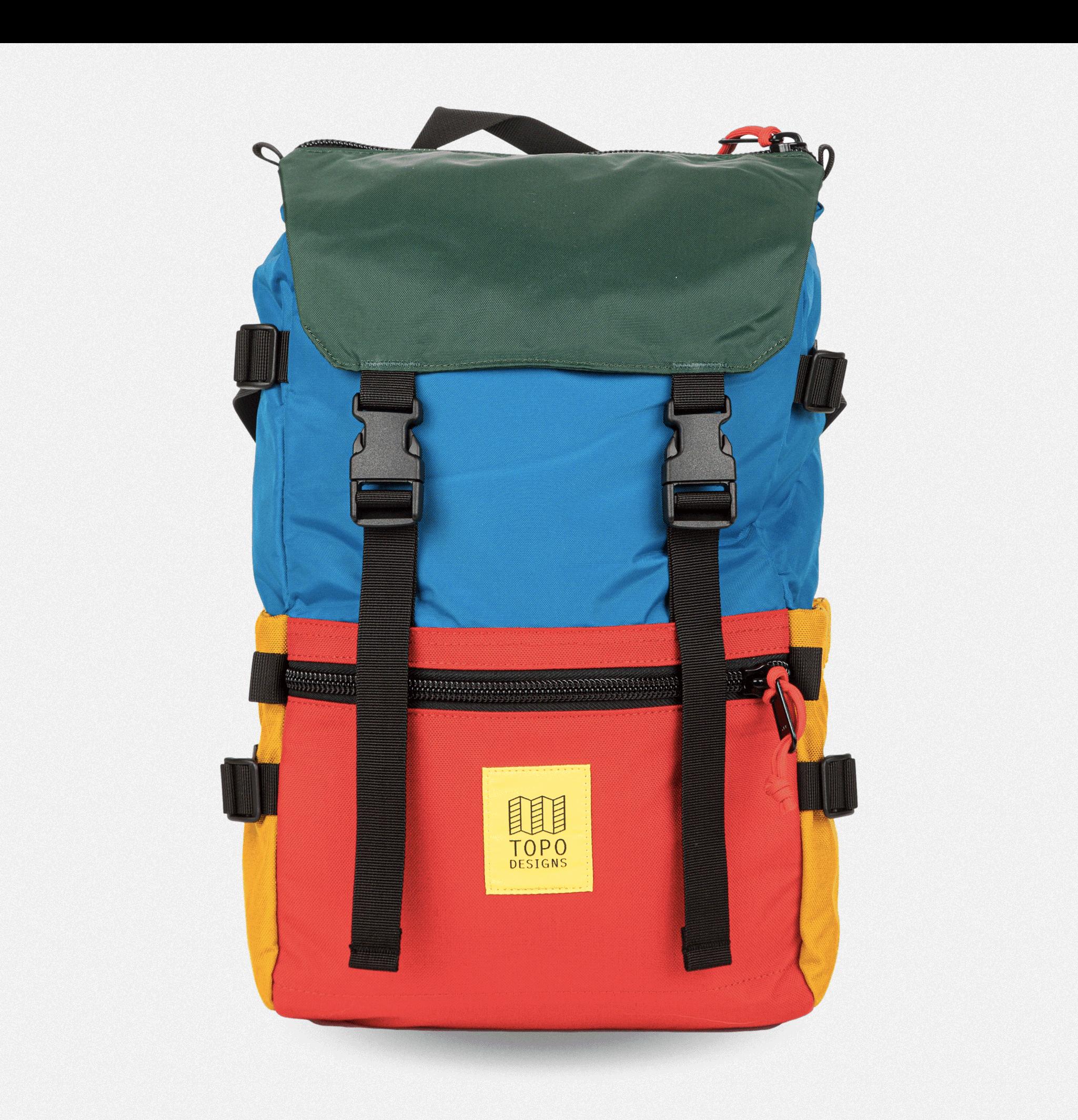 Rover Backpack BlueRedForest
