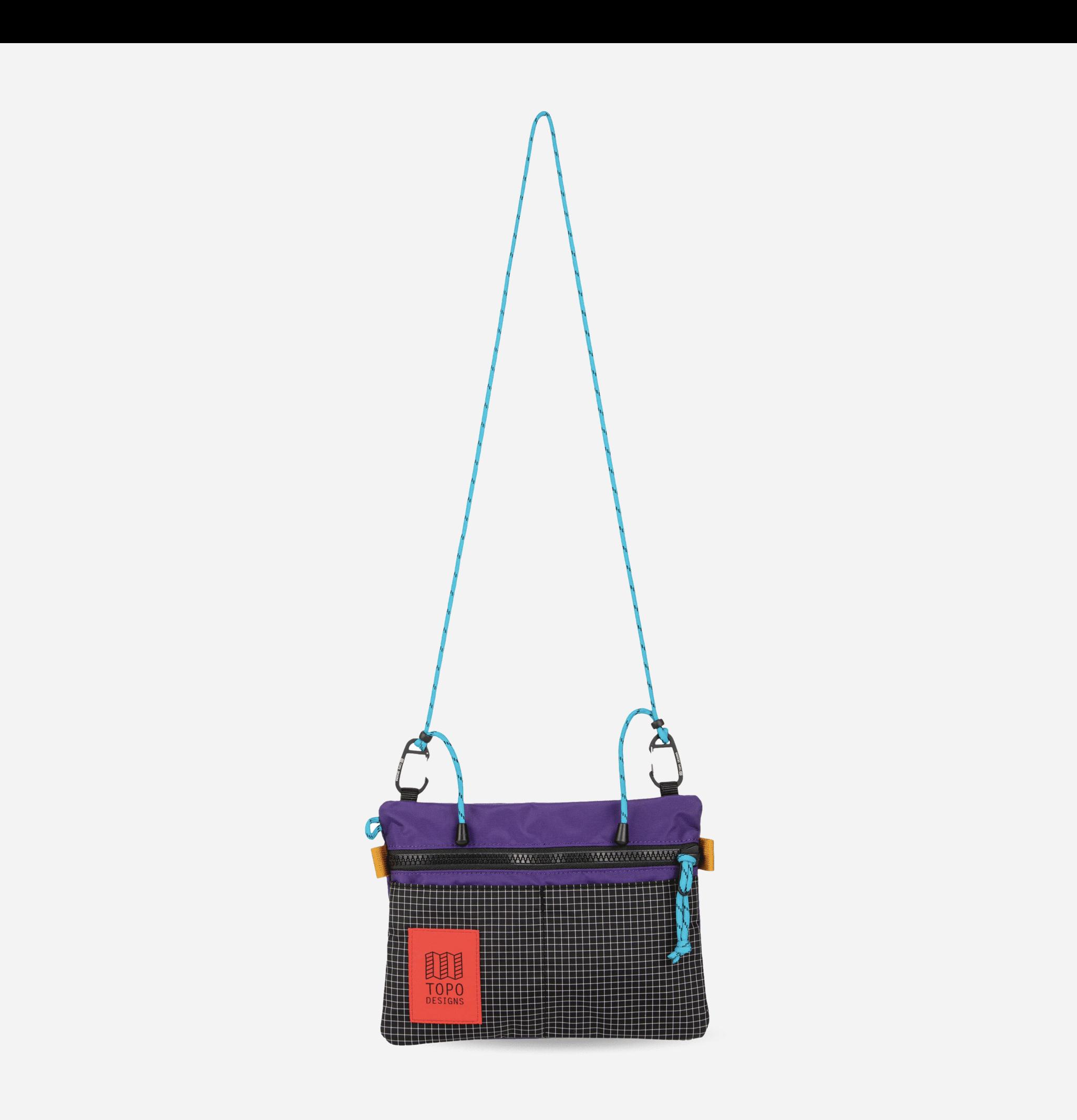 Carabiner Shoulder Bag Purple