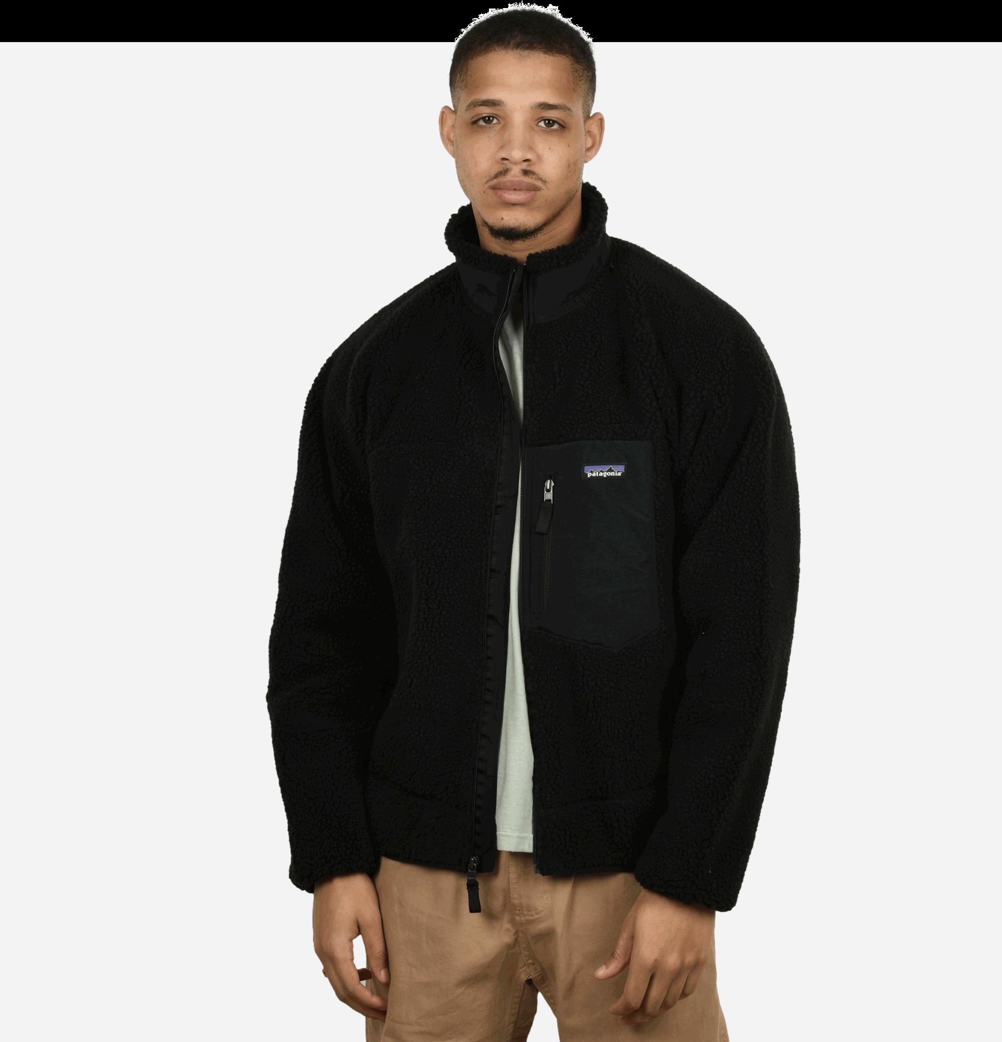 Retro X Jacket Black