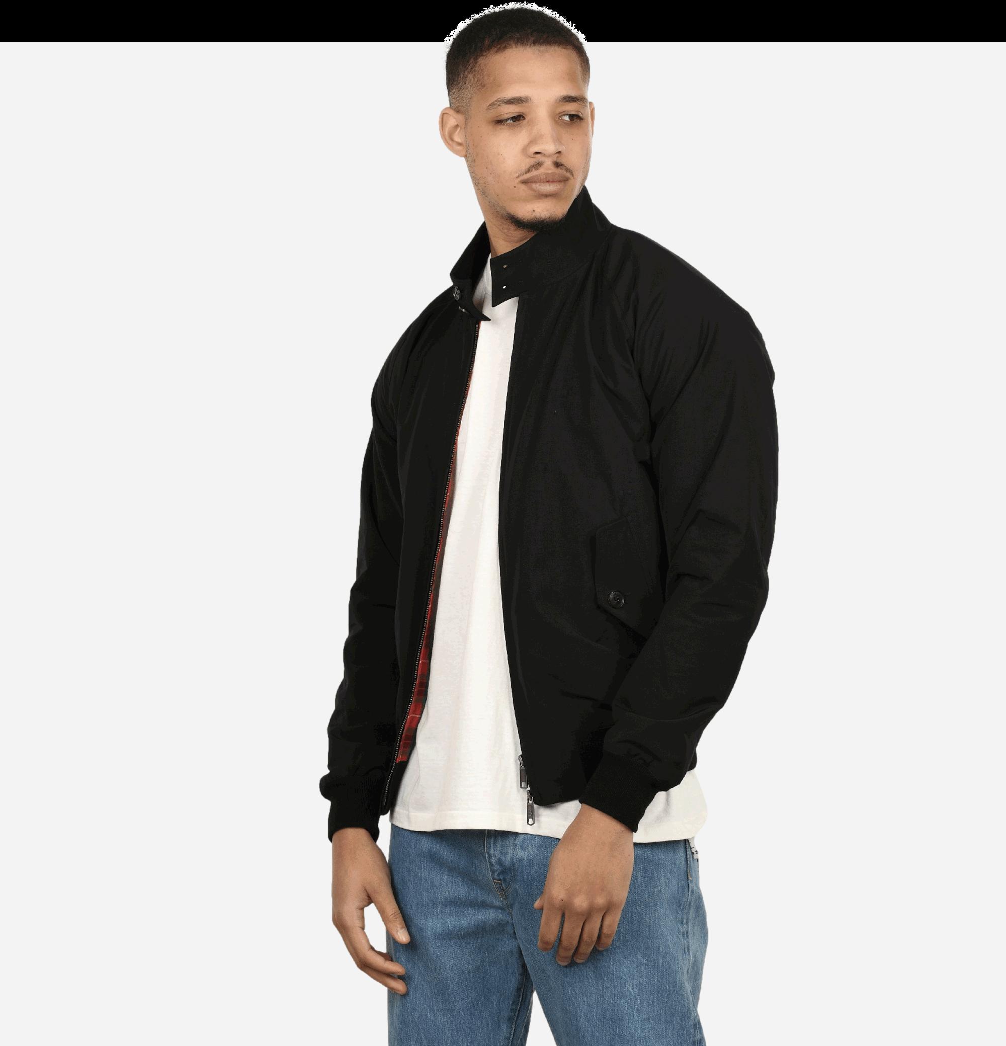 G9 Harrington Jacket Black