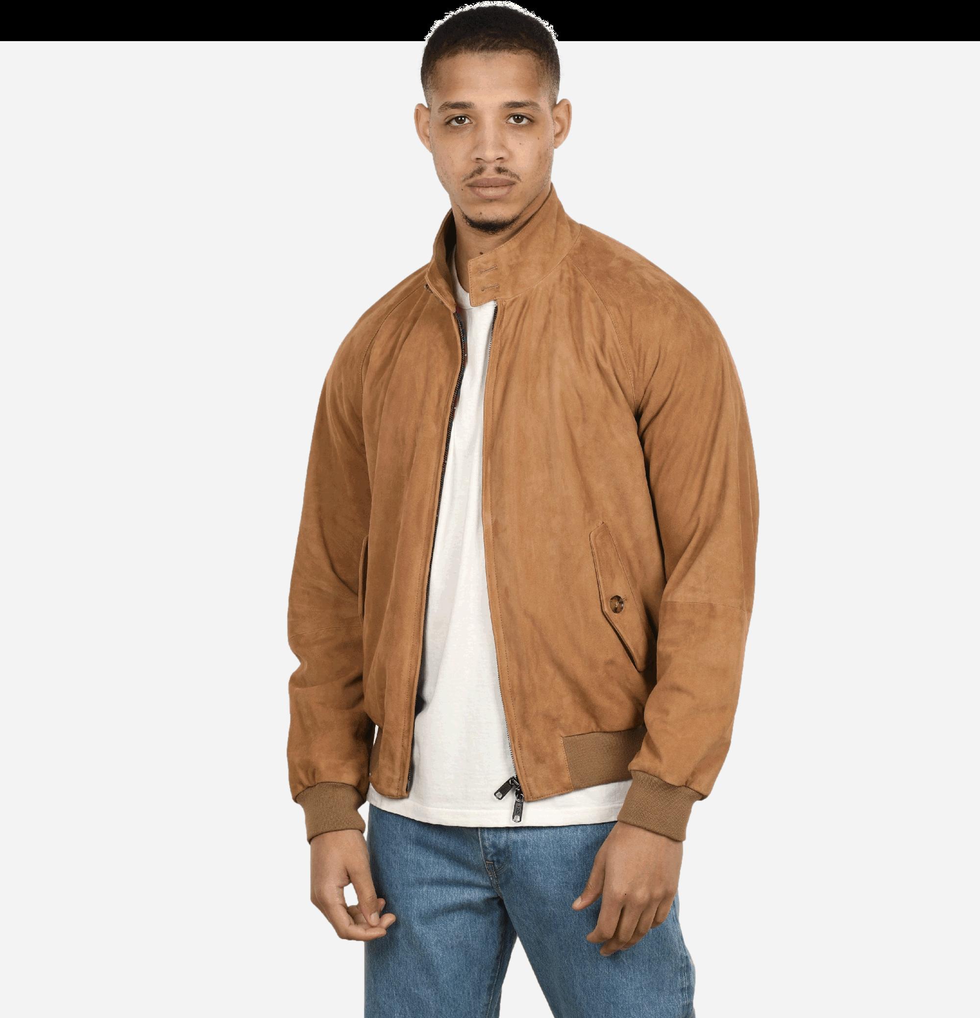 G9 Jacket Suede Tan