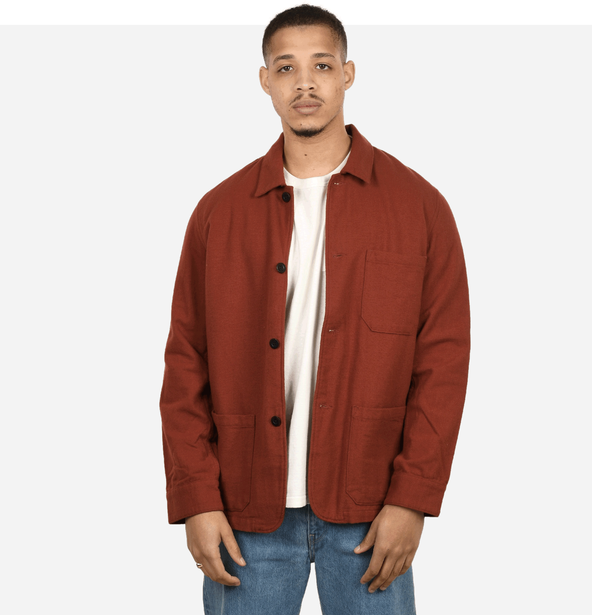 Labura Flannel Jacket Bordeaux