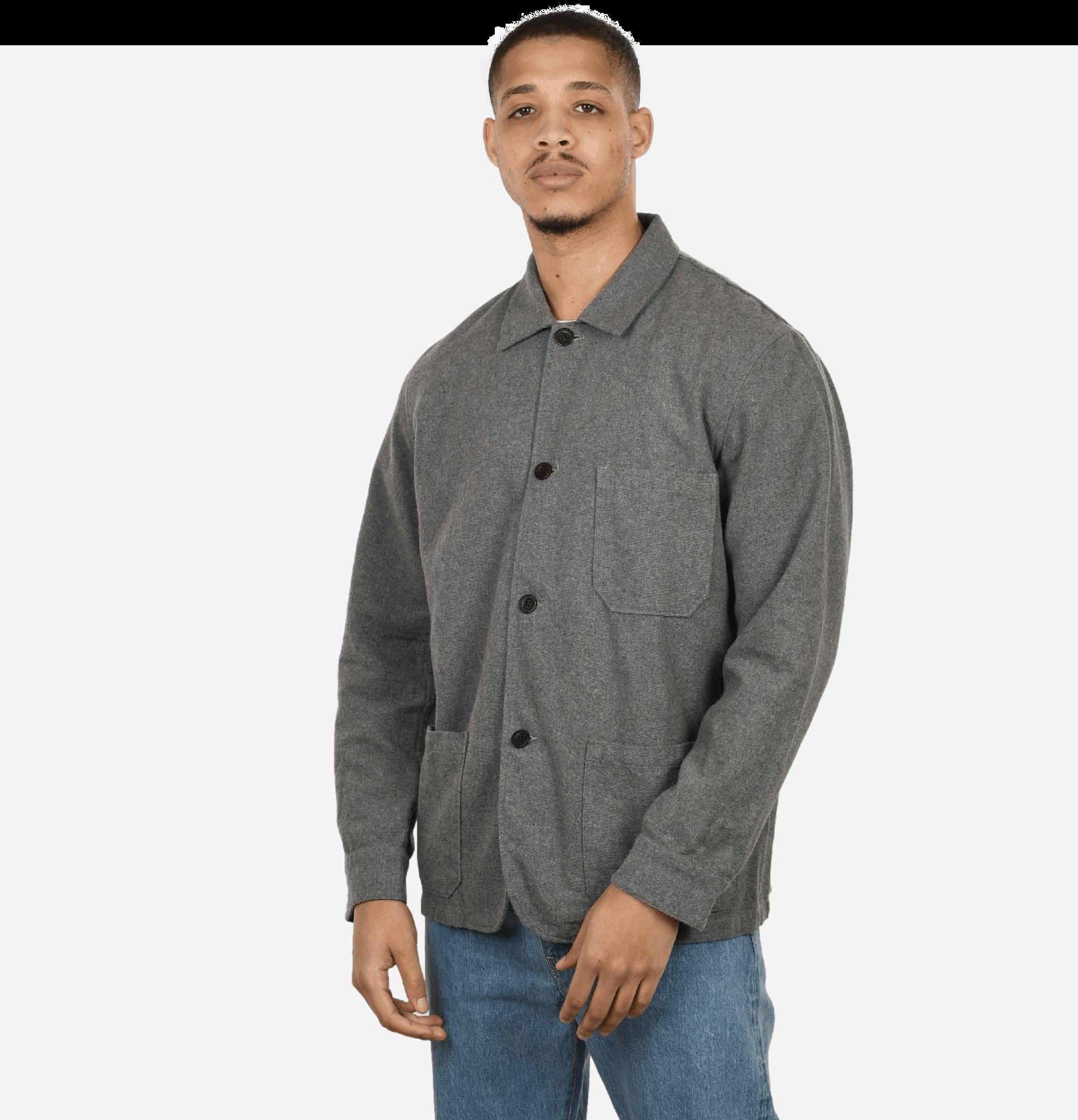 Labura Jacket Flannel Grey