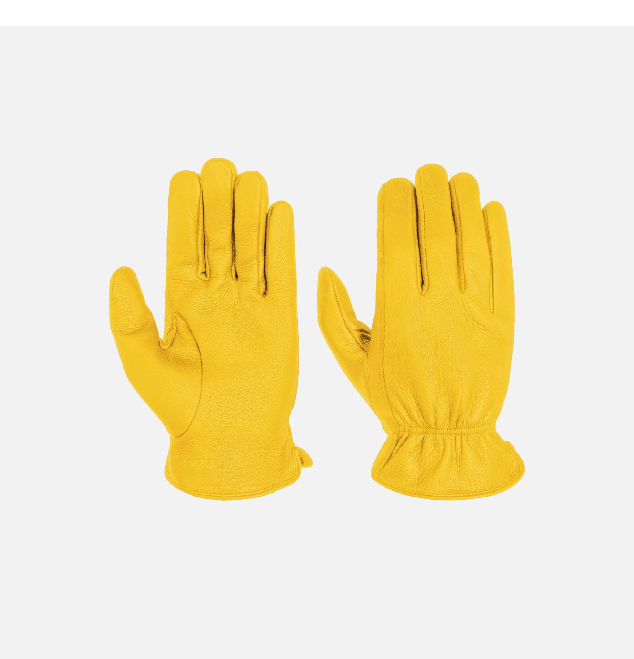 Gants Deer Nappa Yellow