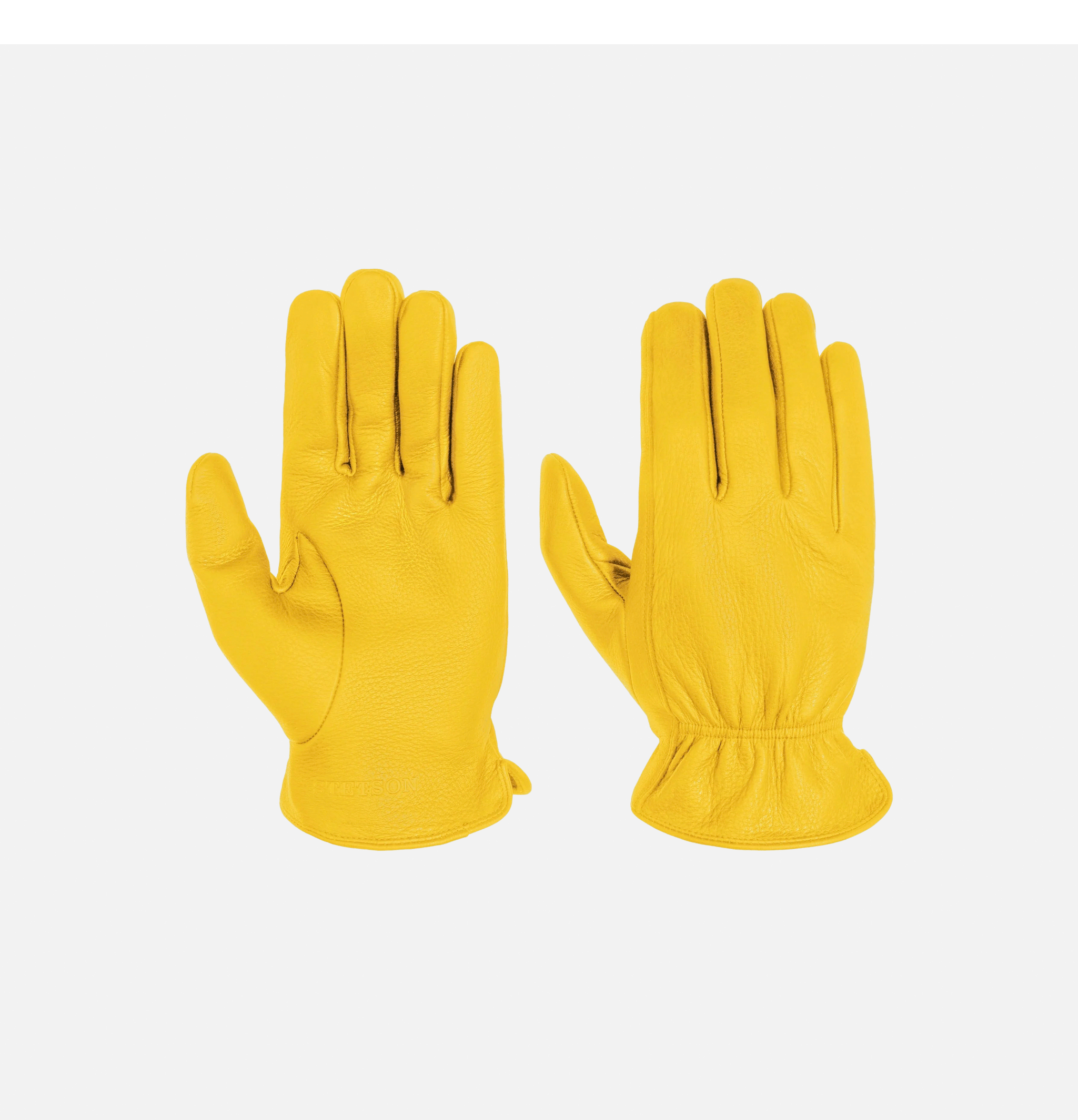 Deer Nappa Gloves Yellow