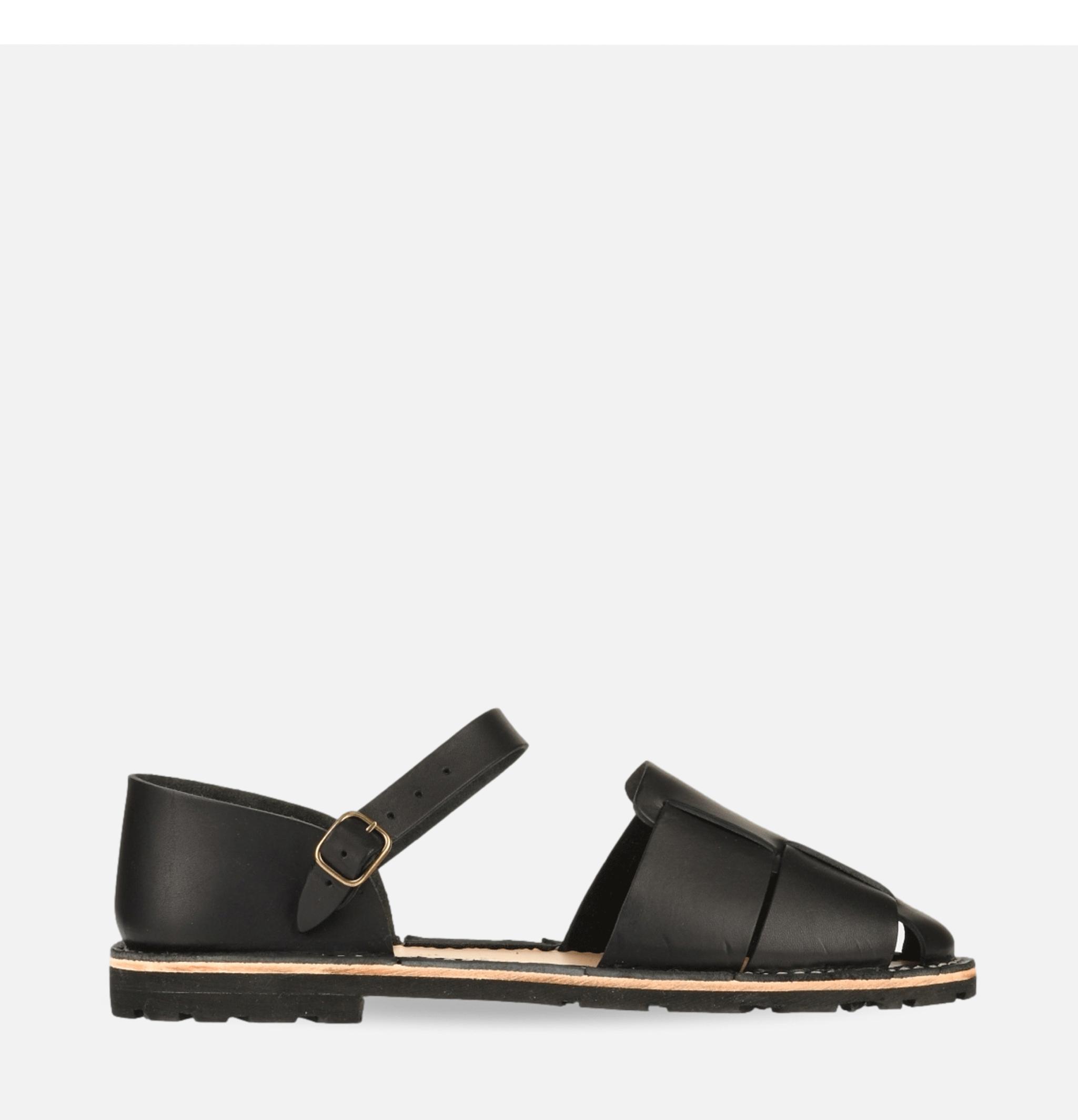 Artisanal Sandal Shoe 11 Black